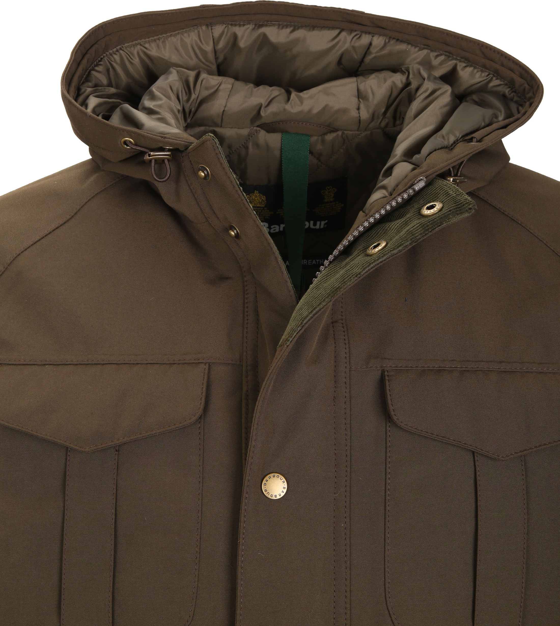 Barbour Whitstable Jacke Oliv foto 1