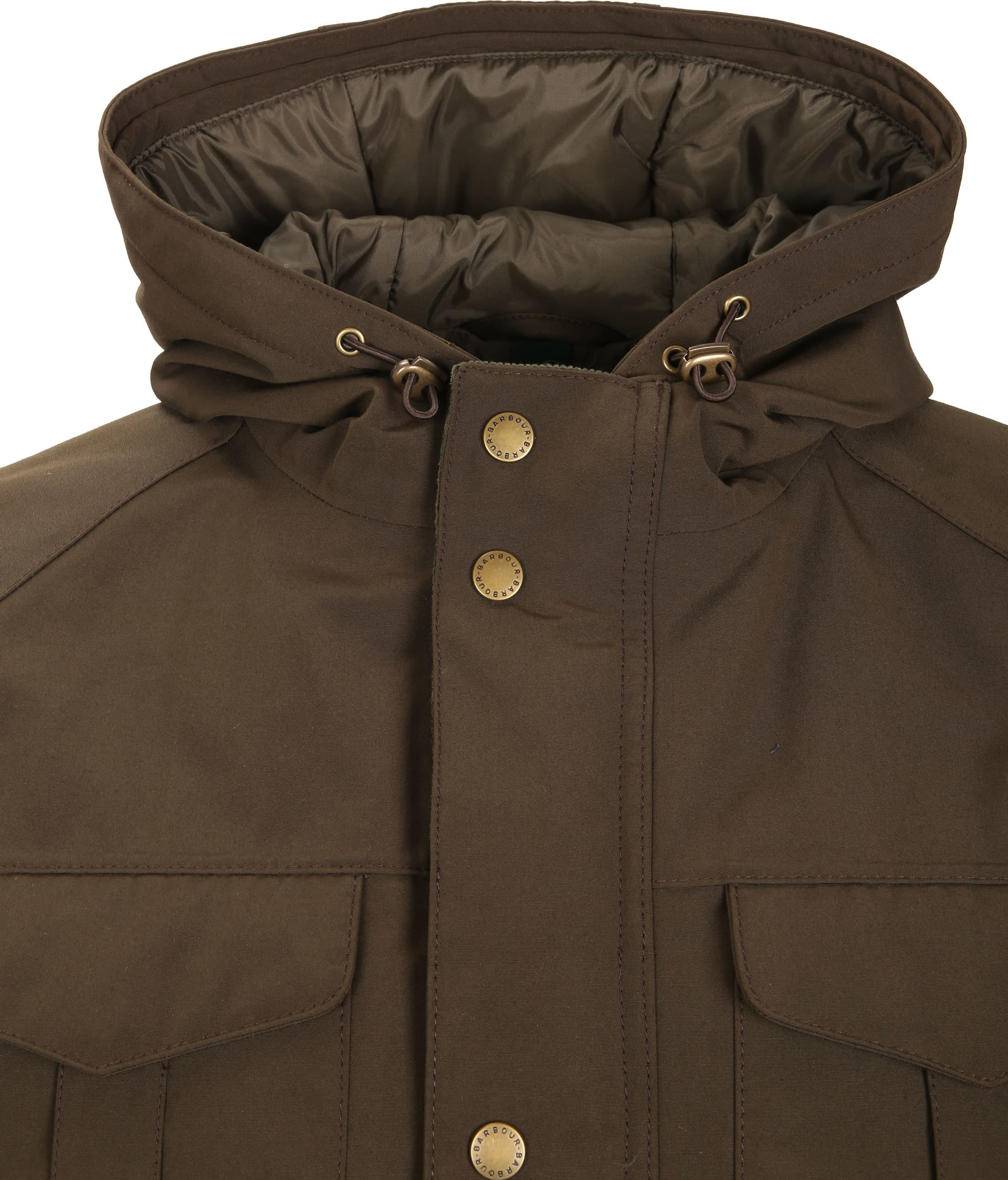 Barbour Whitstable Jacke Oliv foto 3