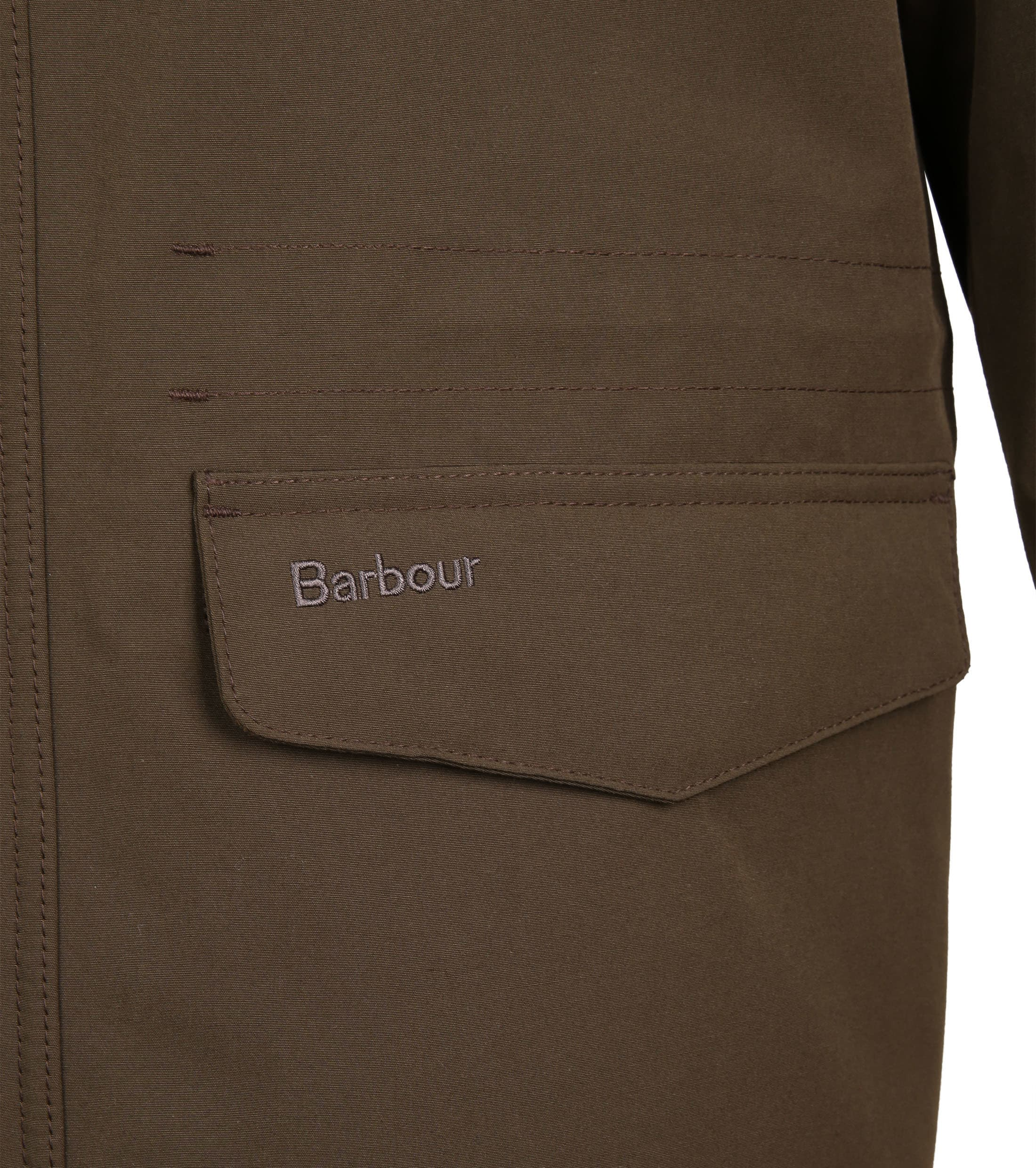 Barbour Whitstable Jacke Oliv foto 5