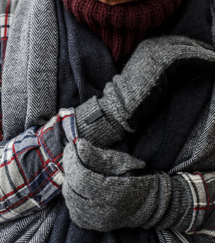 Barts Handschoenen Bhric Grijs foto 1