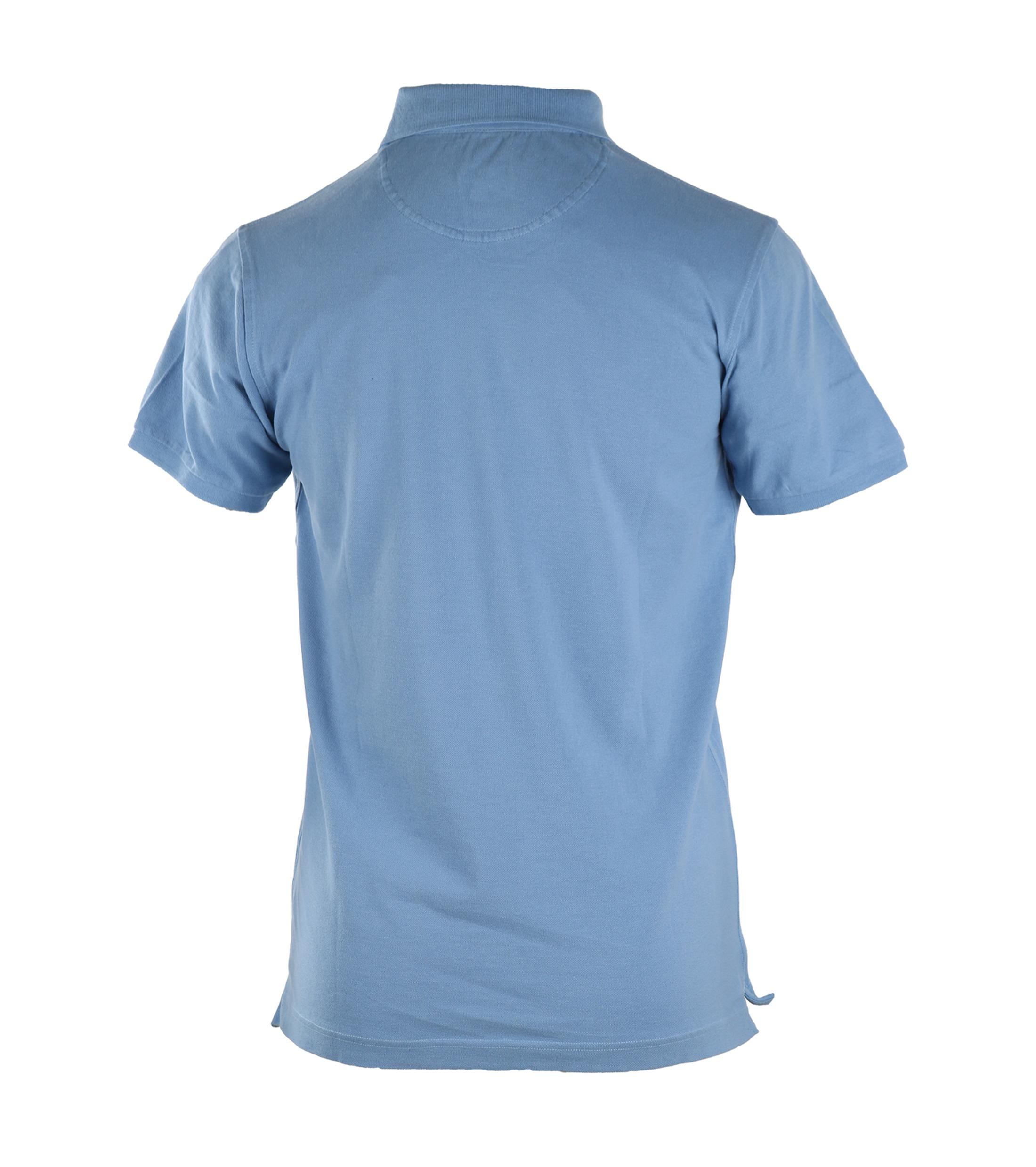 Basic Polo Blauw foto 1