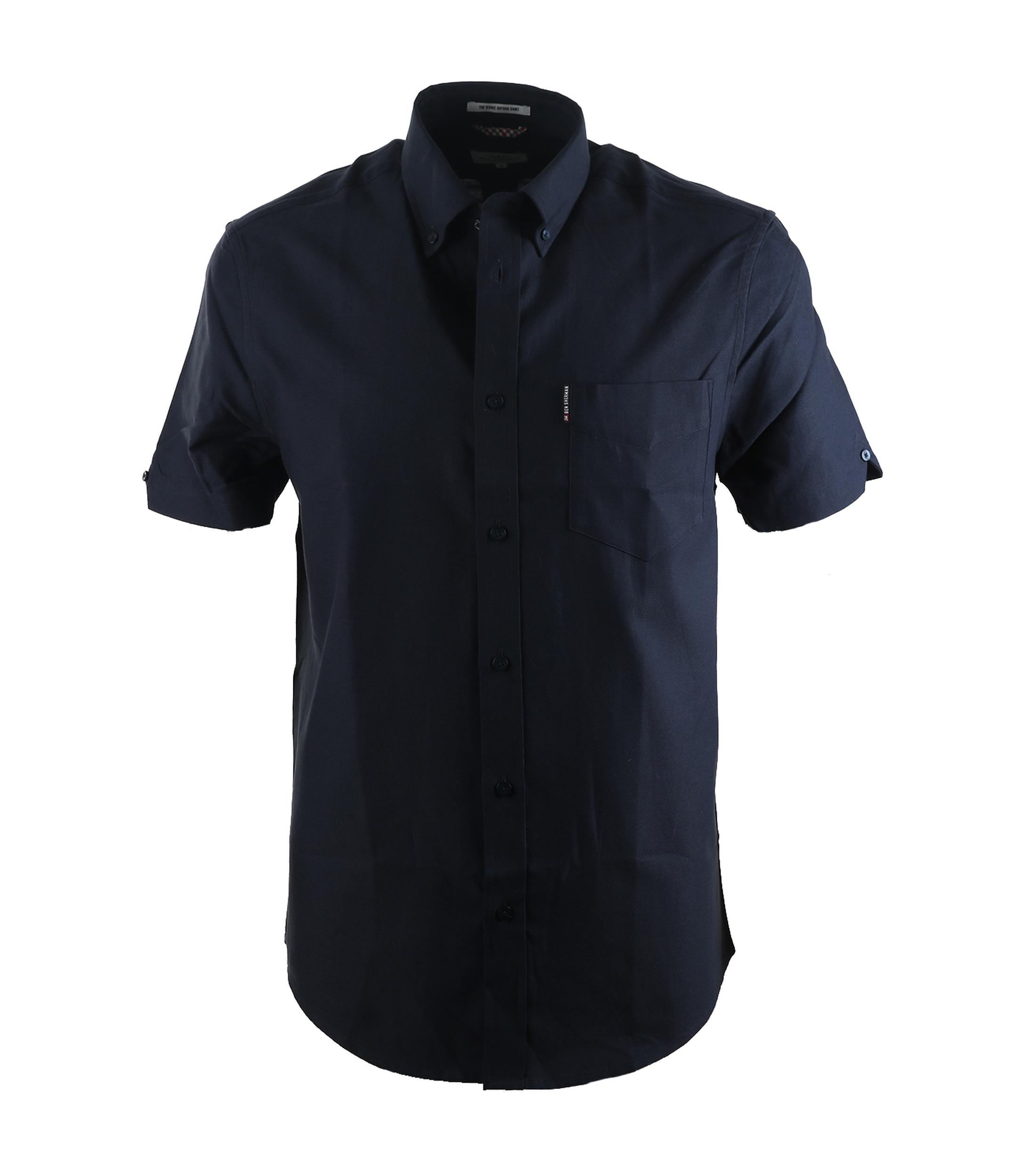 ben sherman hemd donkerblauw online bestellen suitable