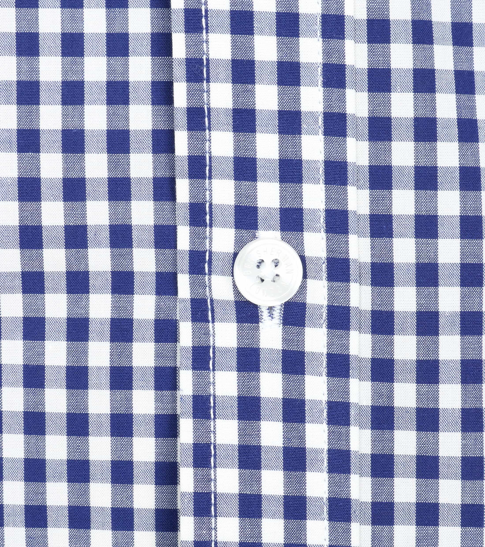 Ben Sherman Overhemd Ruit Donkerblauw foto 1