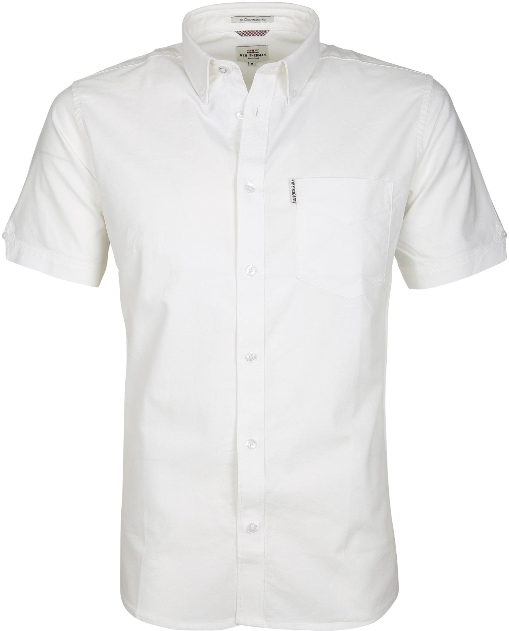 Ben Sherman Overhemd SS Wit foto 0