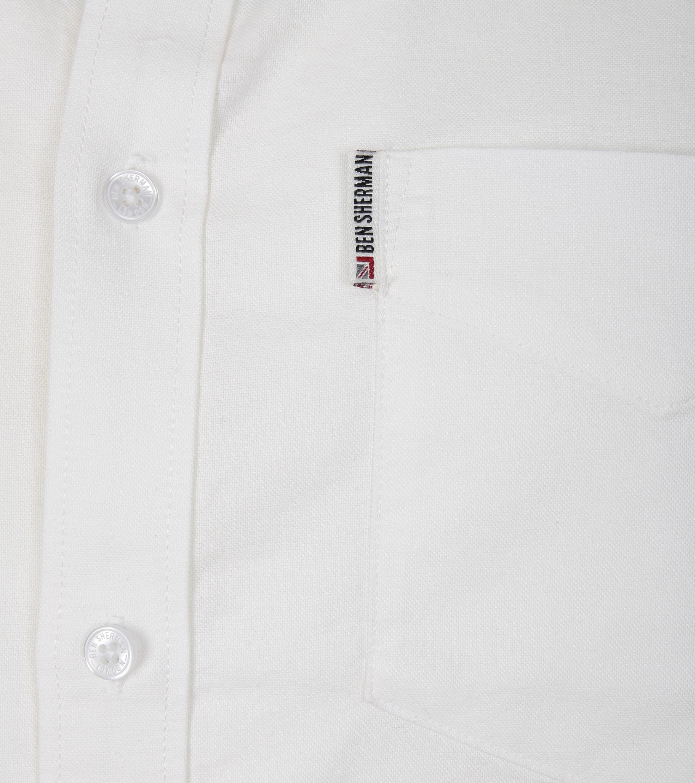 Ben Sherman Overhemd SS Wit foto 1