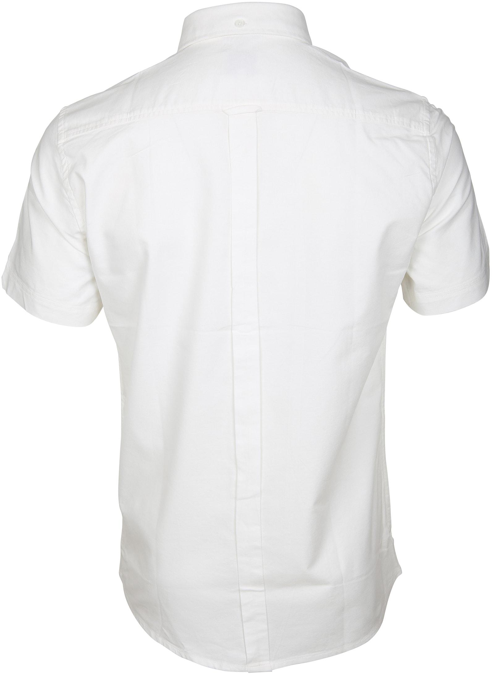 Ben Sherman Overhemd SS Wit foto 2
