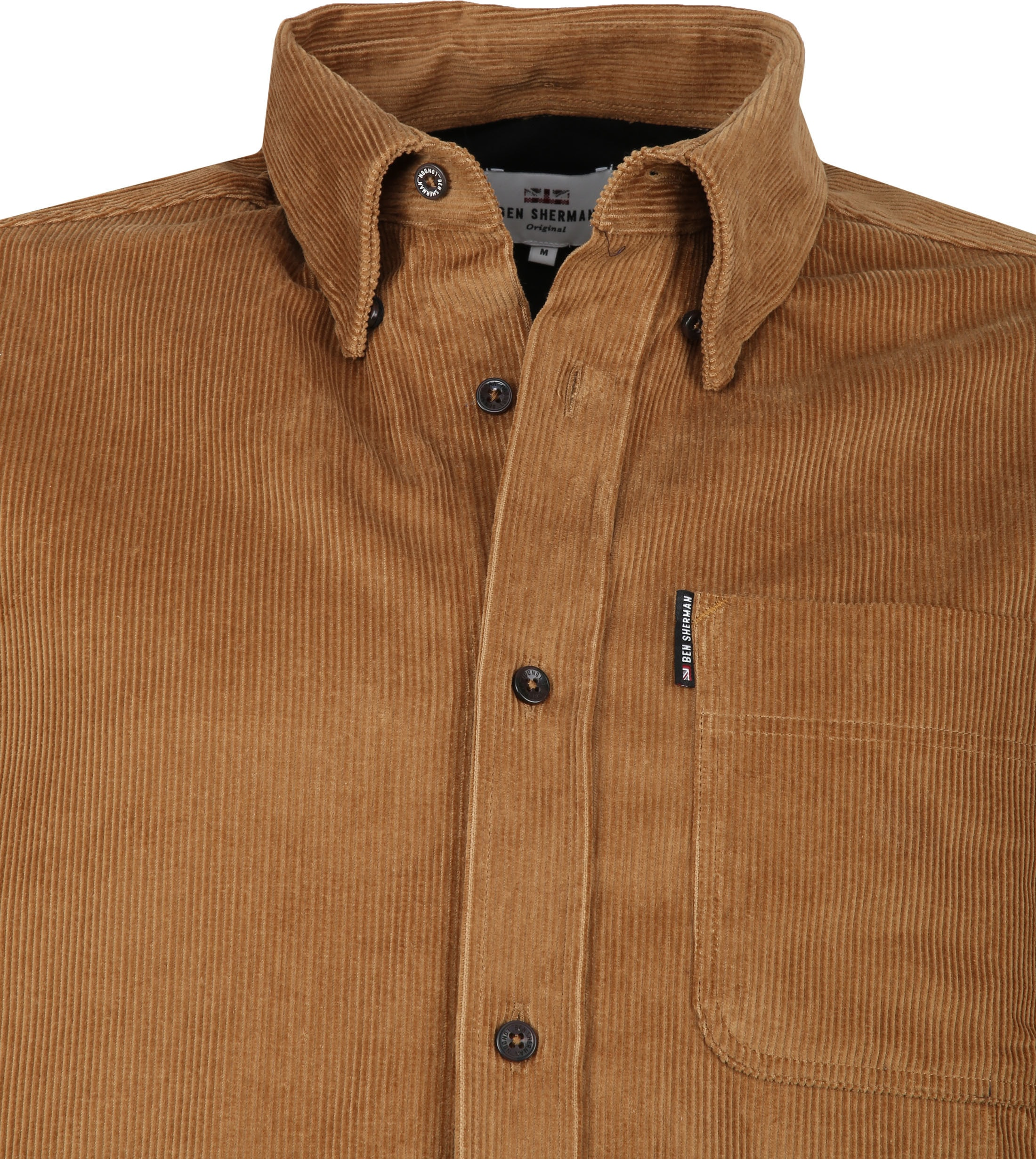 Ben Sherman Shirt Camel photo 1