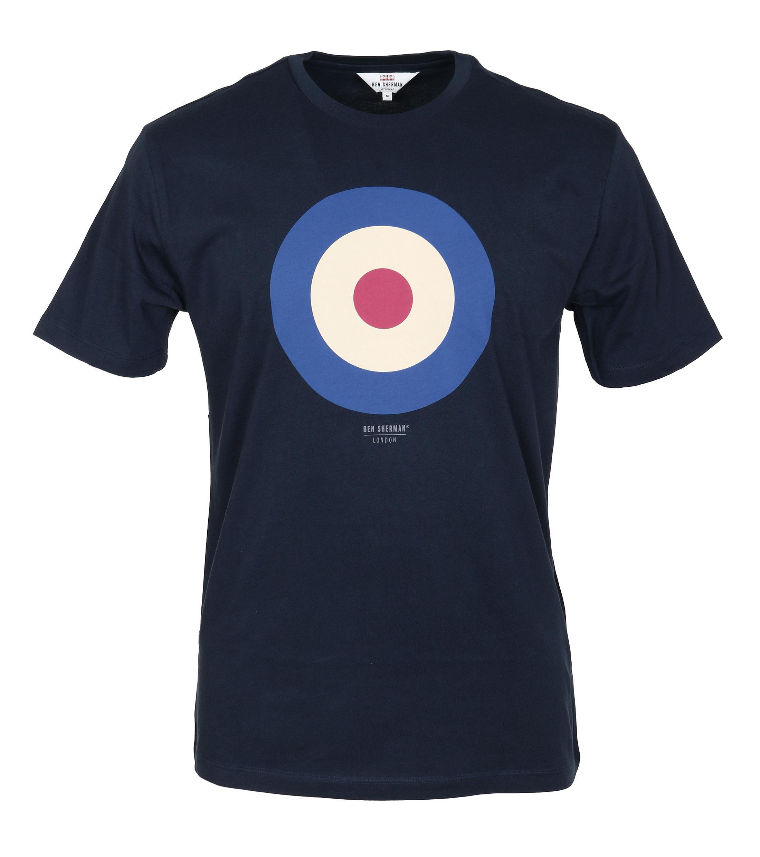 Ben Sherman T-Shirt Print Navy foto 0