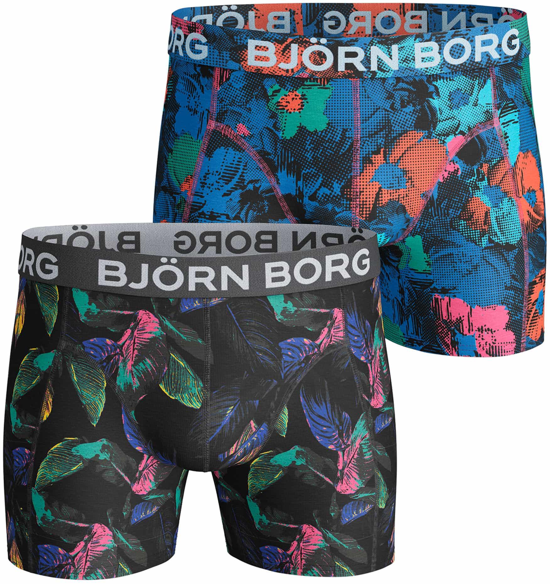 Bjorn Borg Boxers 2-Pack Bloemen foto 0