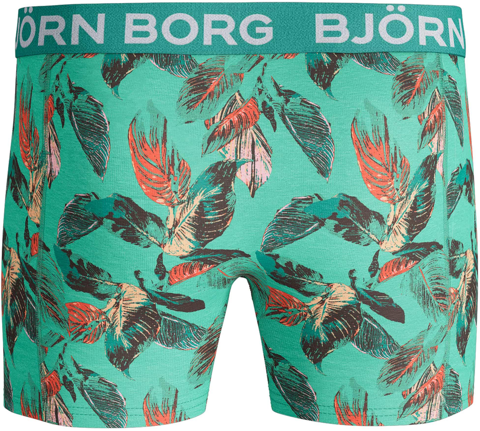 Bjorn Borg Boxers 2-Pack Camo Bloemen foto 2