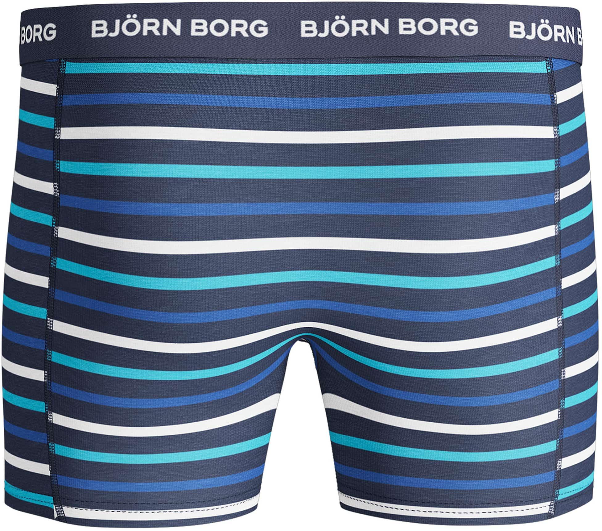 Bjorn Borg Boxers 3Pack Blauw Streep foto 3