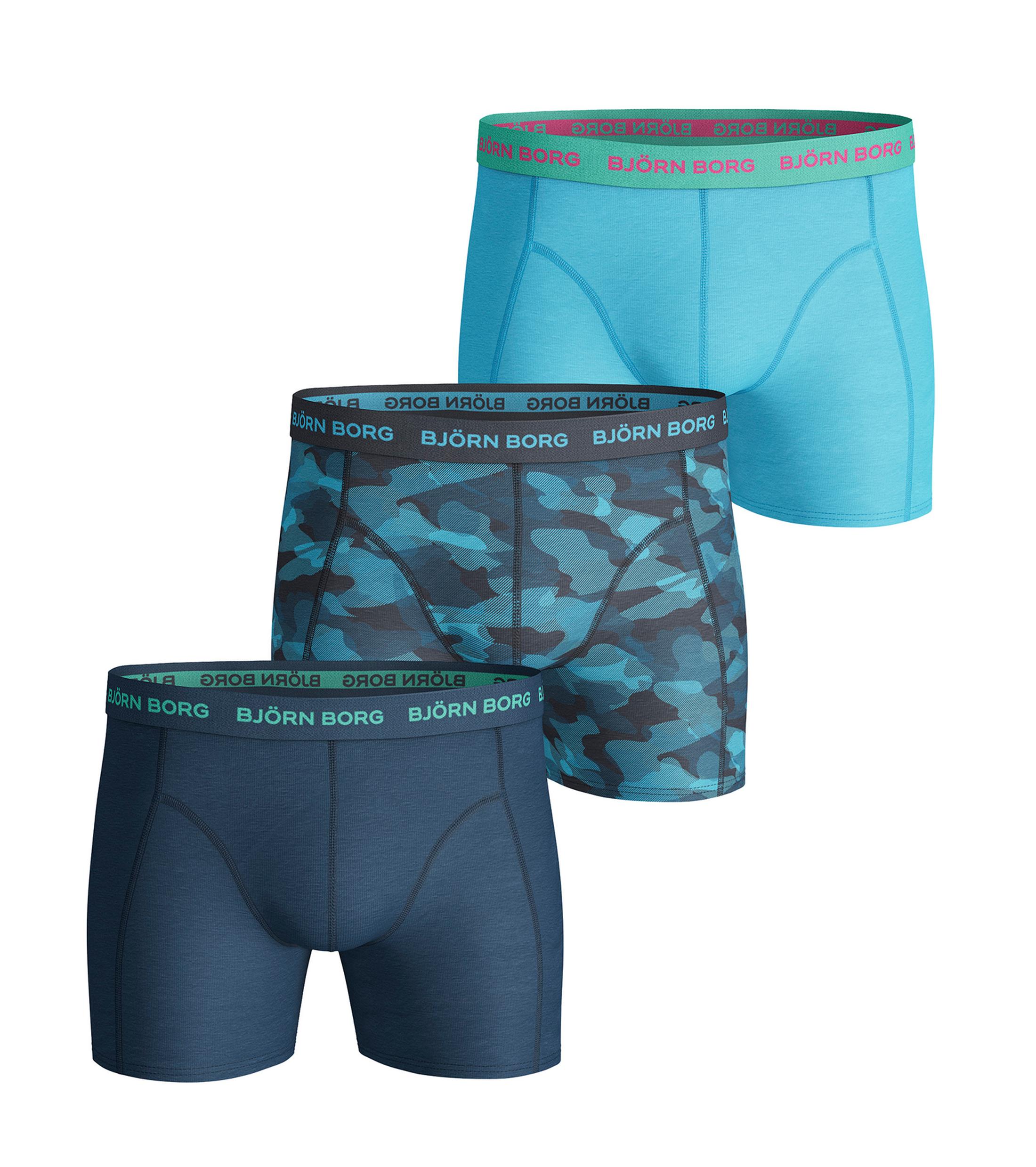 bjorn borg boxers camo 3pack blauw online bestellen suitable. Black Bedroom Furniture Sets. Home Design Ideas