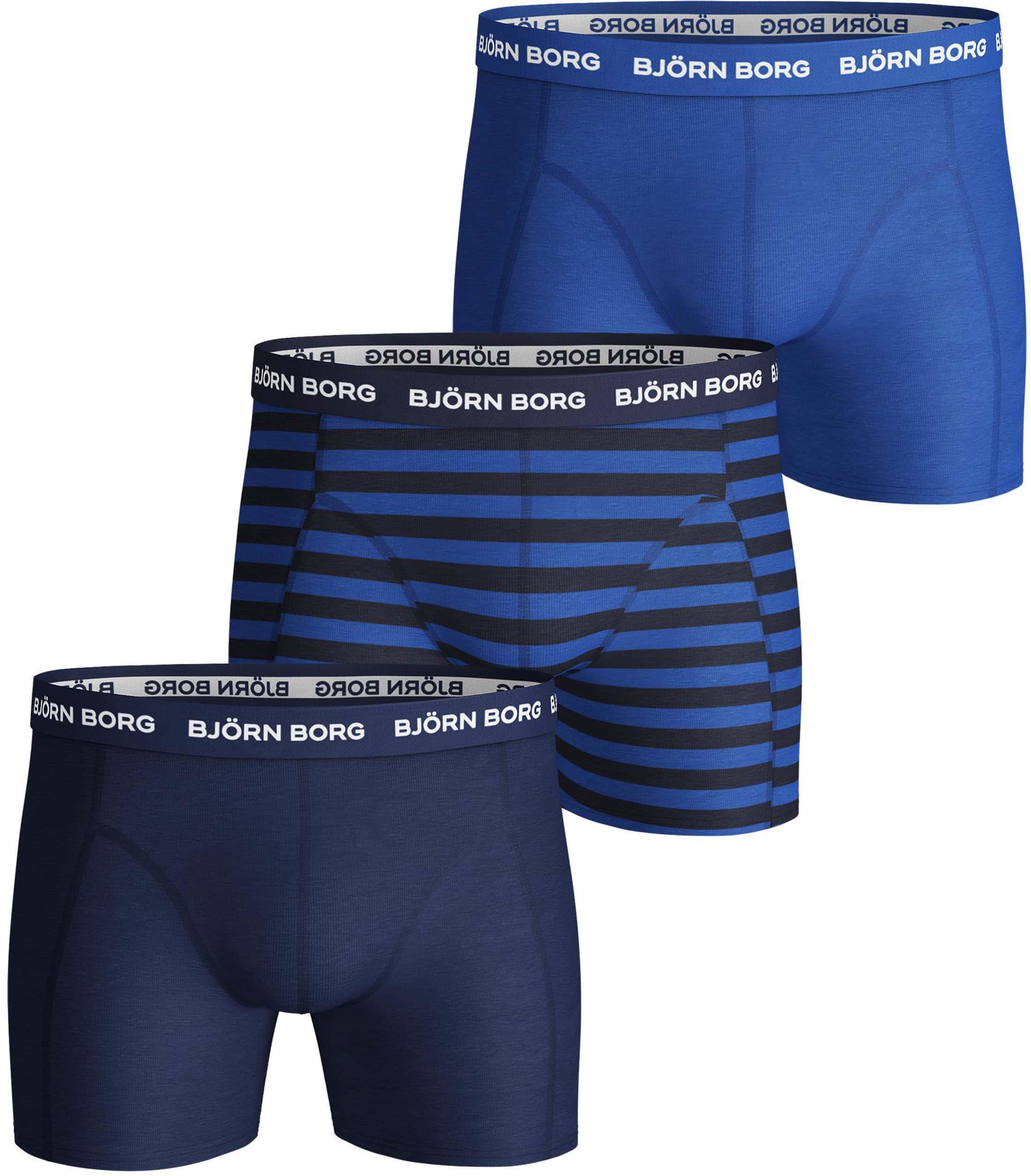 Bjorn Borg Boxershorts 3-Pack Blauw foto 0
