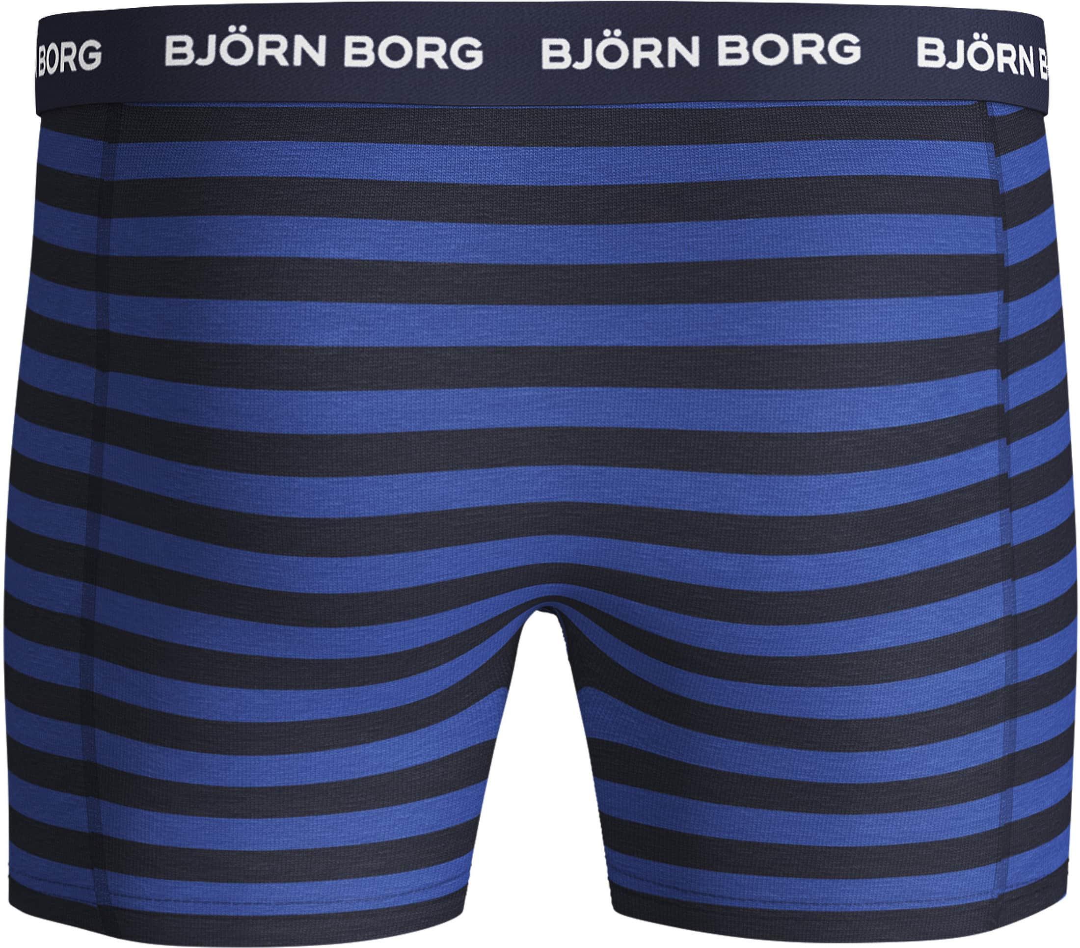 Bjorn Borg Boxershorts 3-Pack Blauw foto 2