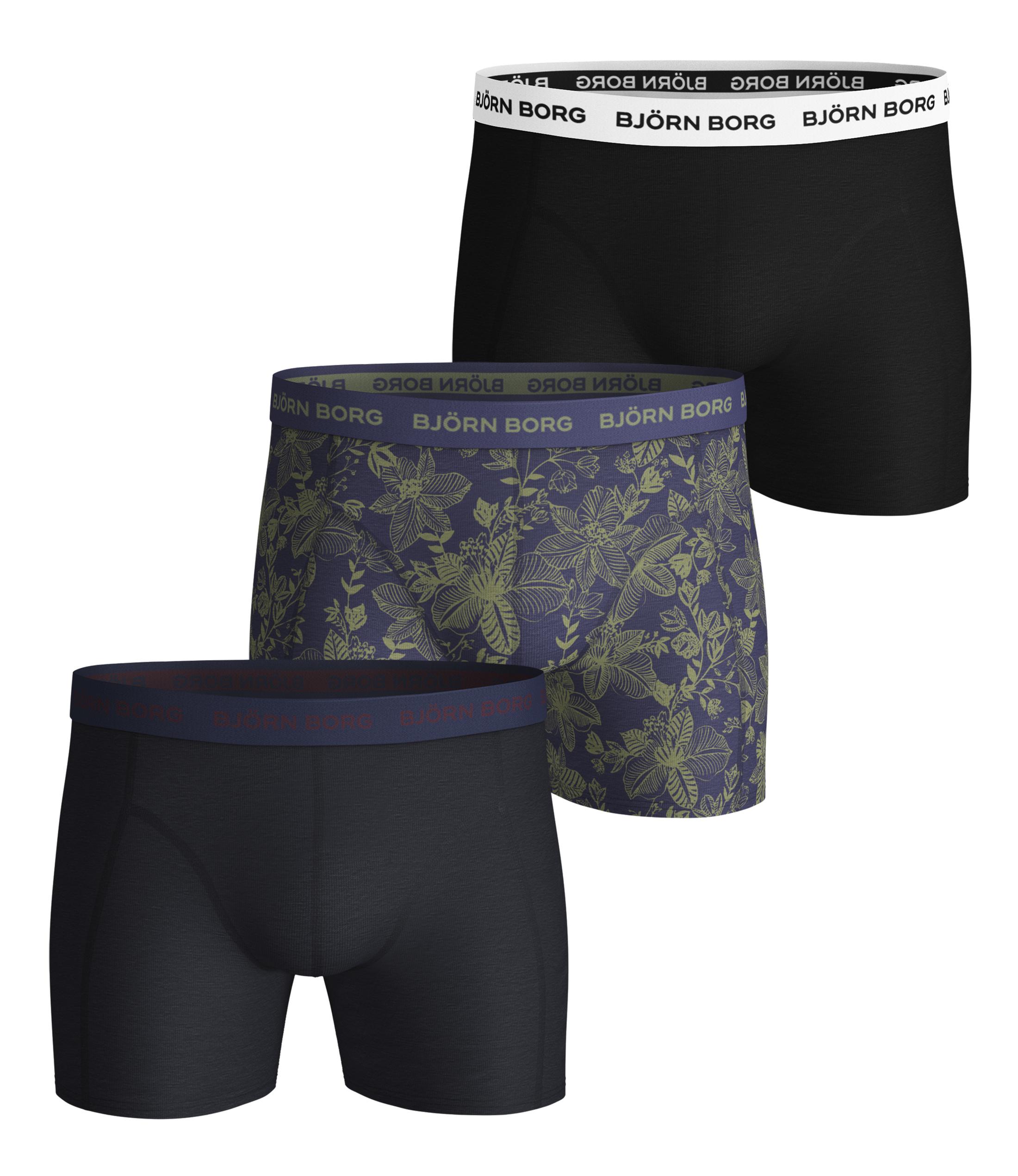 Bjorn Borg Boxershorts 3-Pack Sammy Fiji Flower