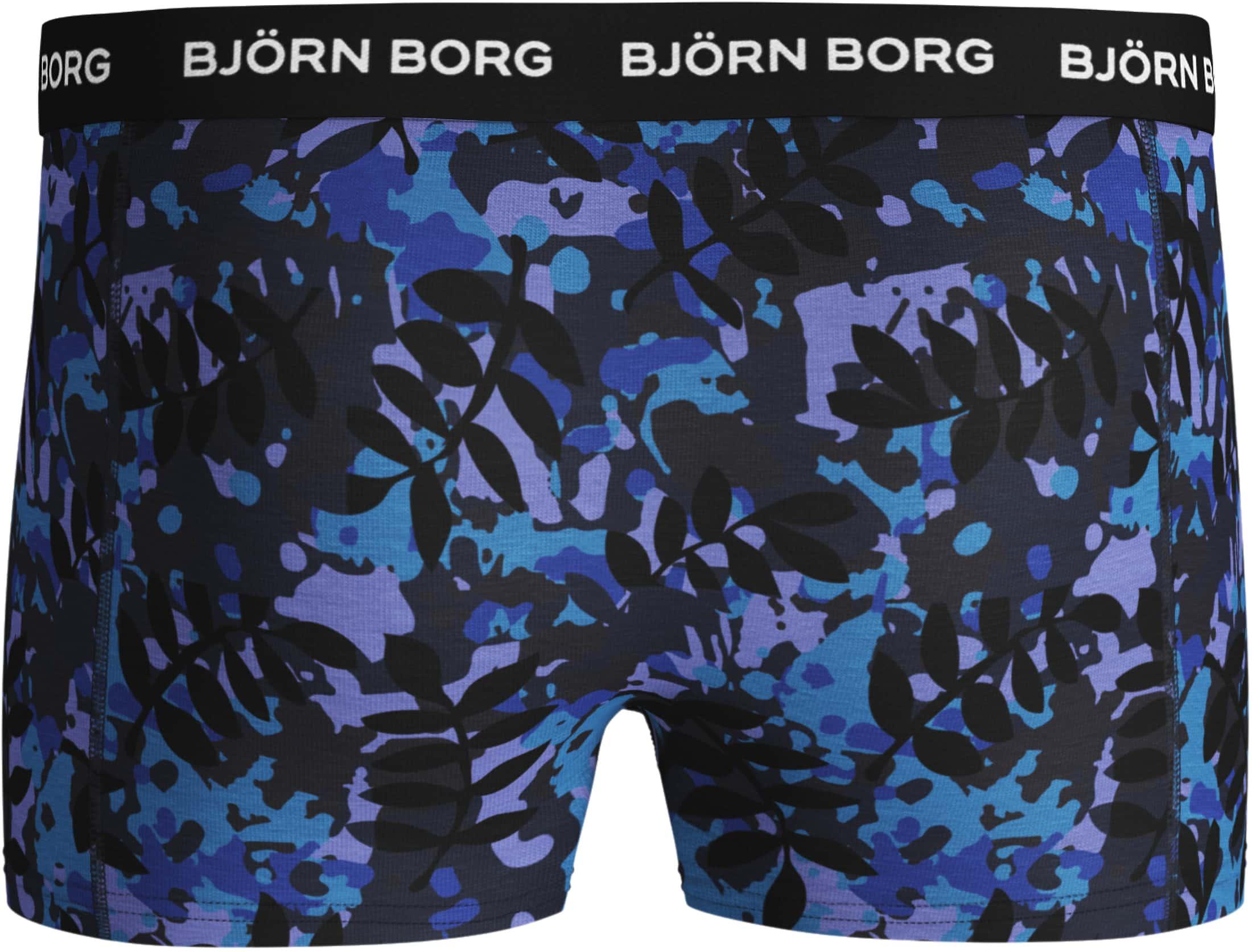 Bjorn Borg Boxershorts Leaf 2-Pack foto 2