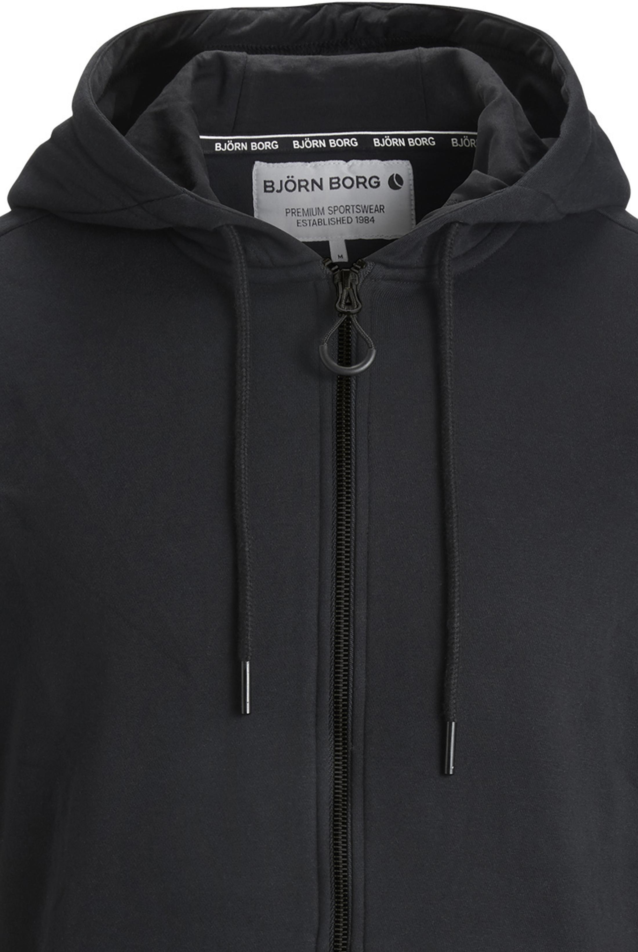 Bjorn Borg Hooded Vest Black Beauty foto 1