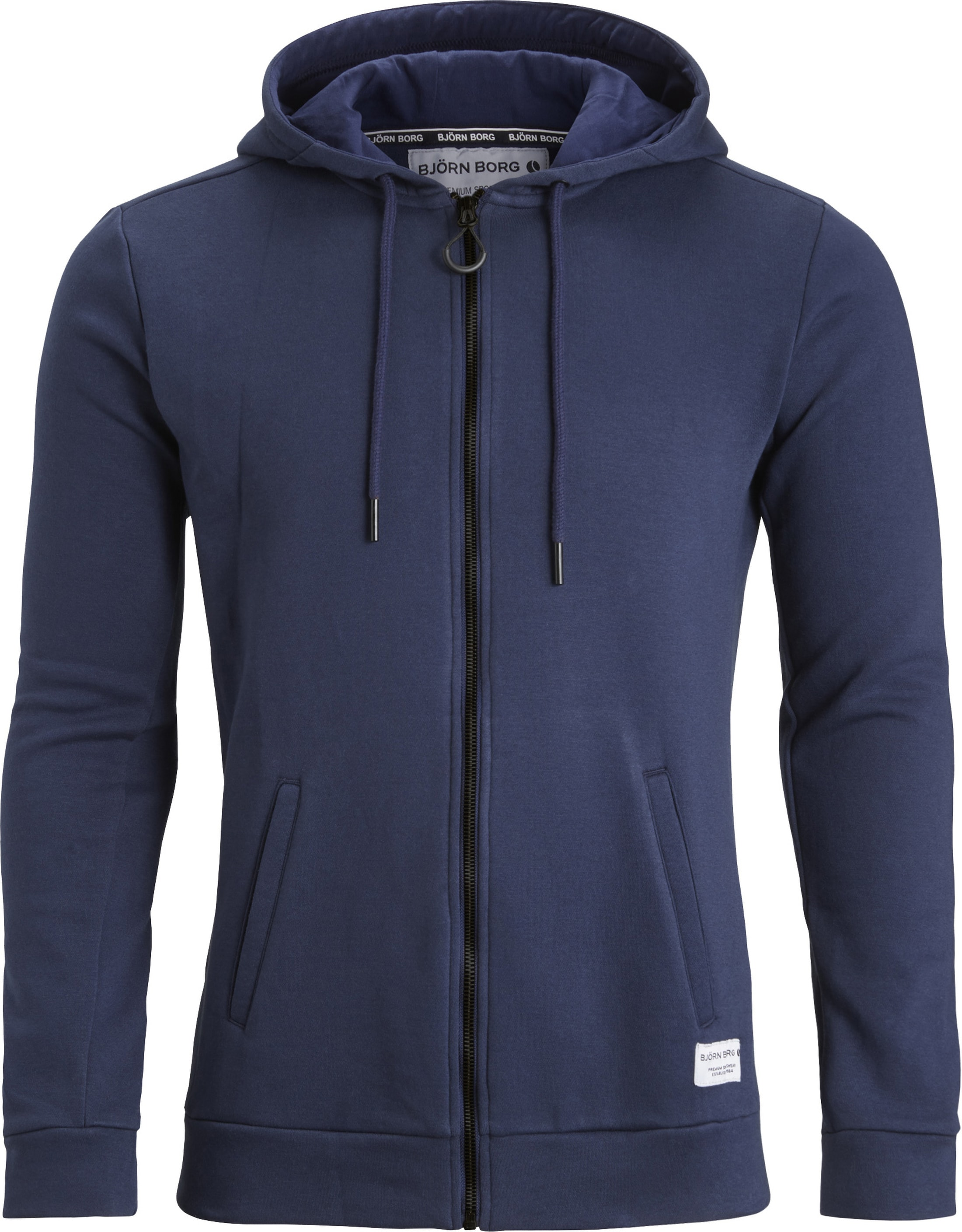 Bjorn Borg Hooded Vest Peacoat Navy foto 0