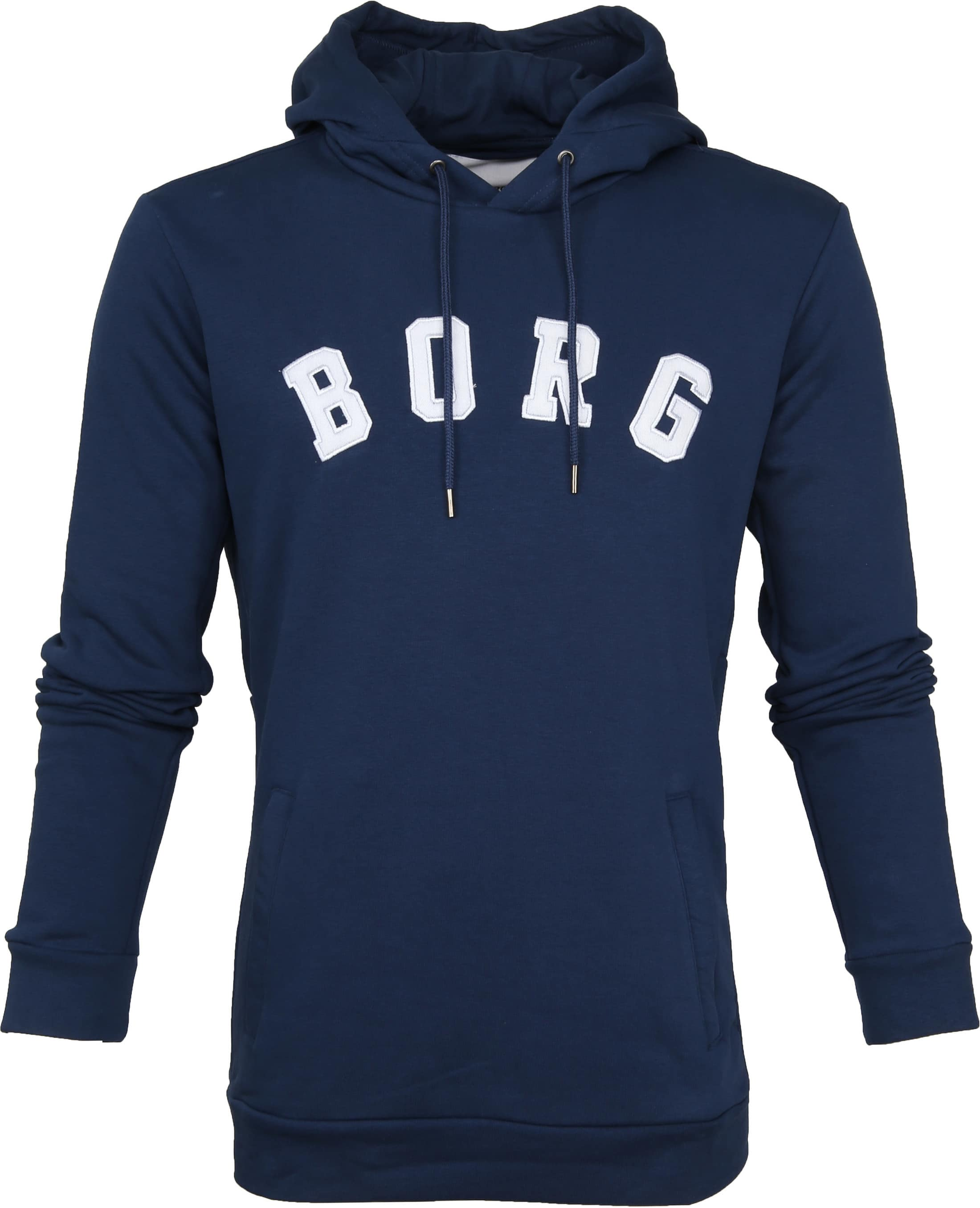 Bjorn Borg Hoodie Billy Insignia Blauw foto 0