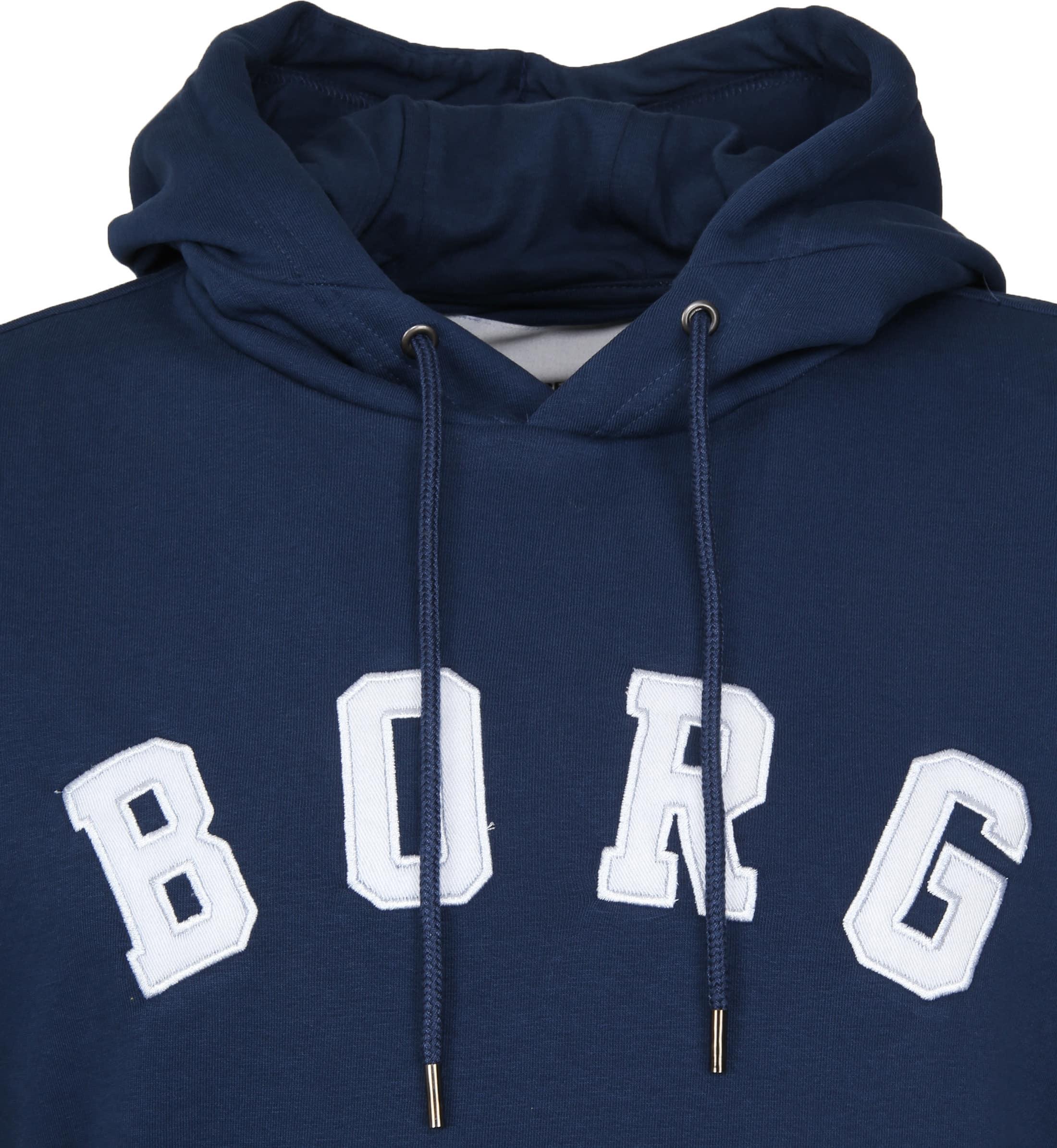Bjorn Borg Hoodie Billy Insignia Blauw foto 1