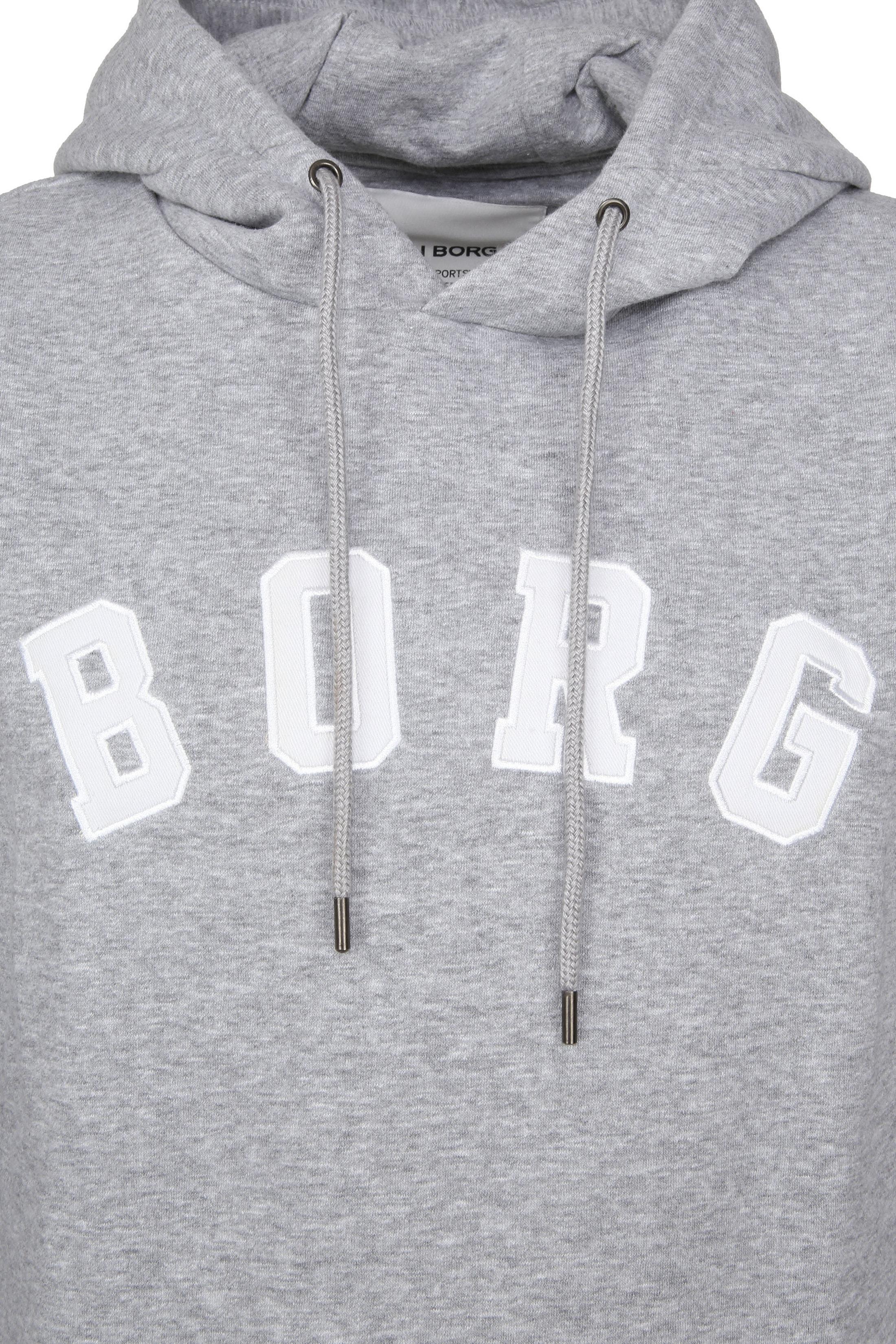 Bjorn Borg Hoodie Billy Melange Grey foto 1