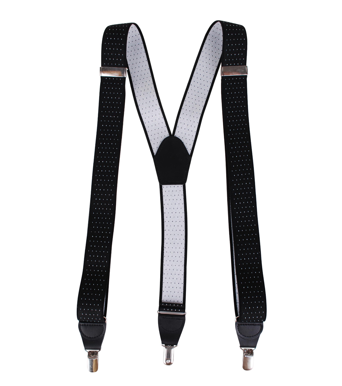 Black Suspenders Pinpoint foto 1