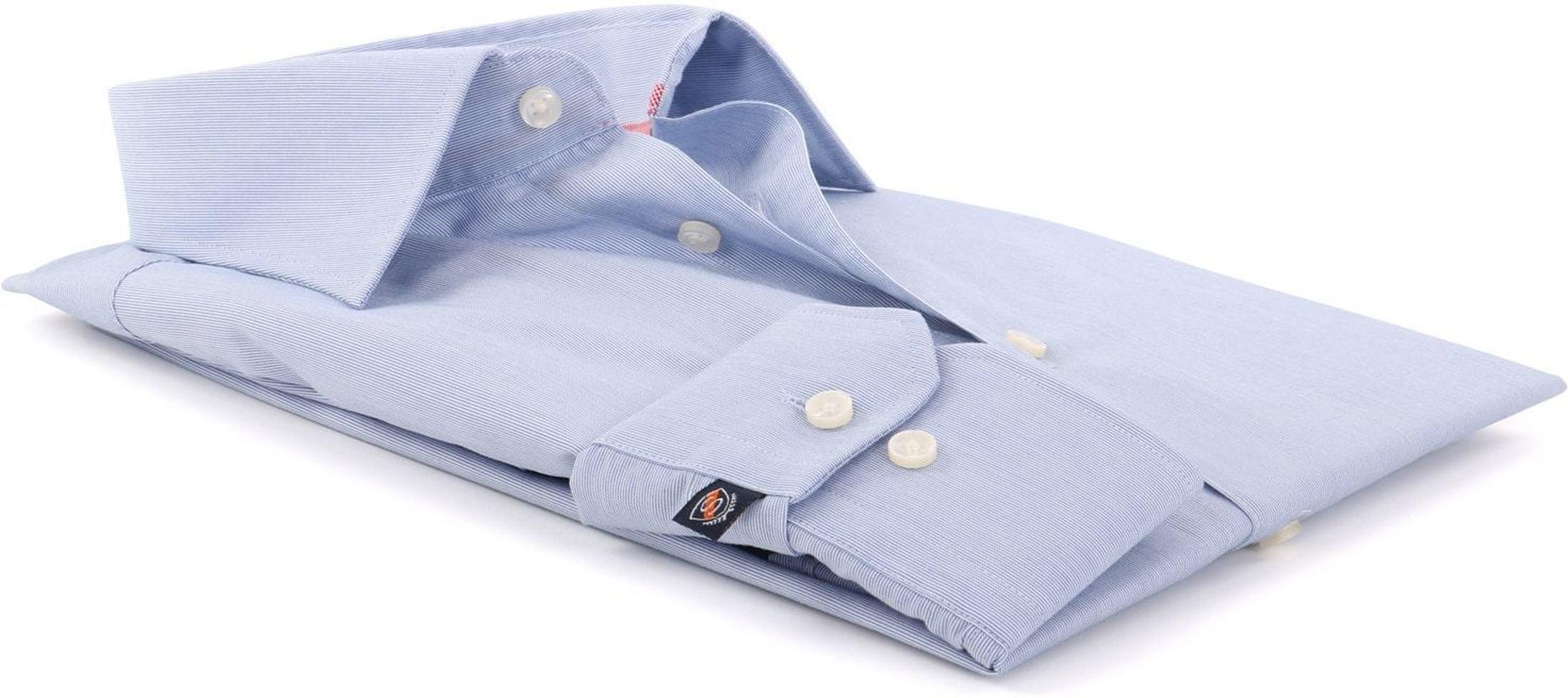 Blau Streifen Hemd 51-06
