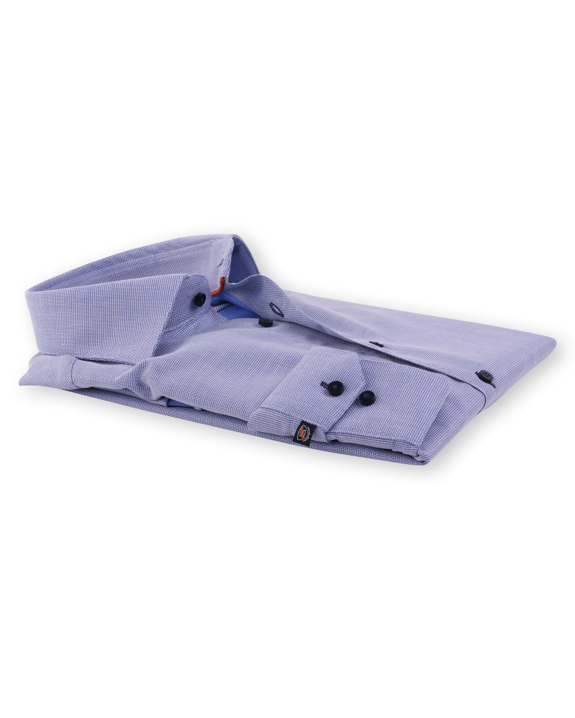 Blauw Overhemd Widespread 52-17 foto 1