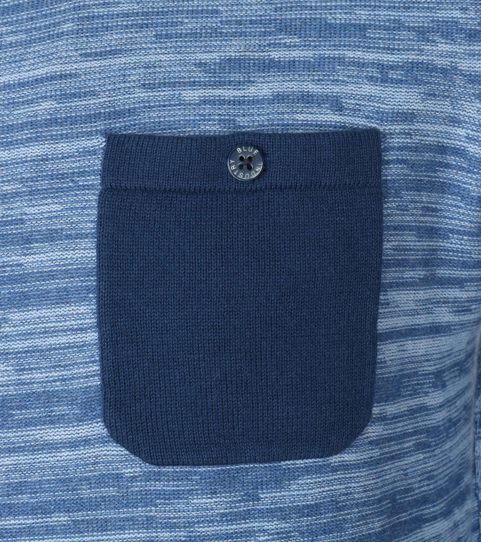 Blue Industry Blau Pullover foto 1