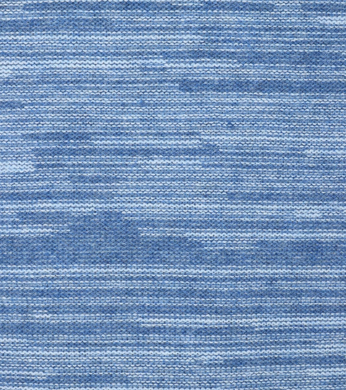 Blue Industry Blau Pullover foto 2