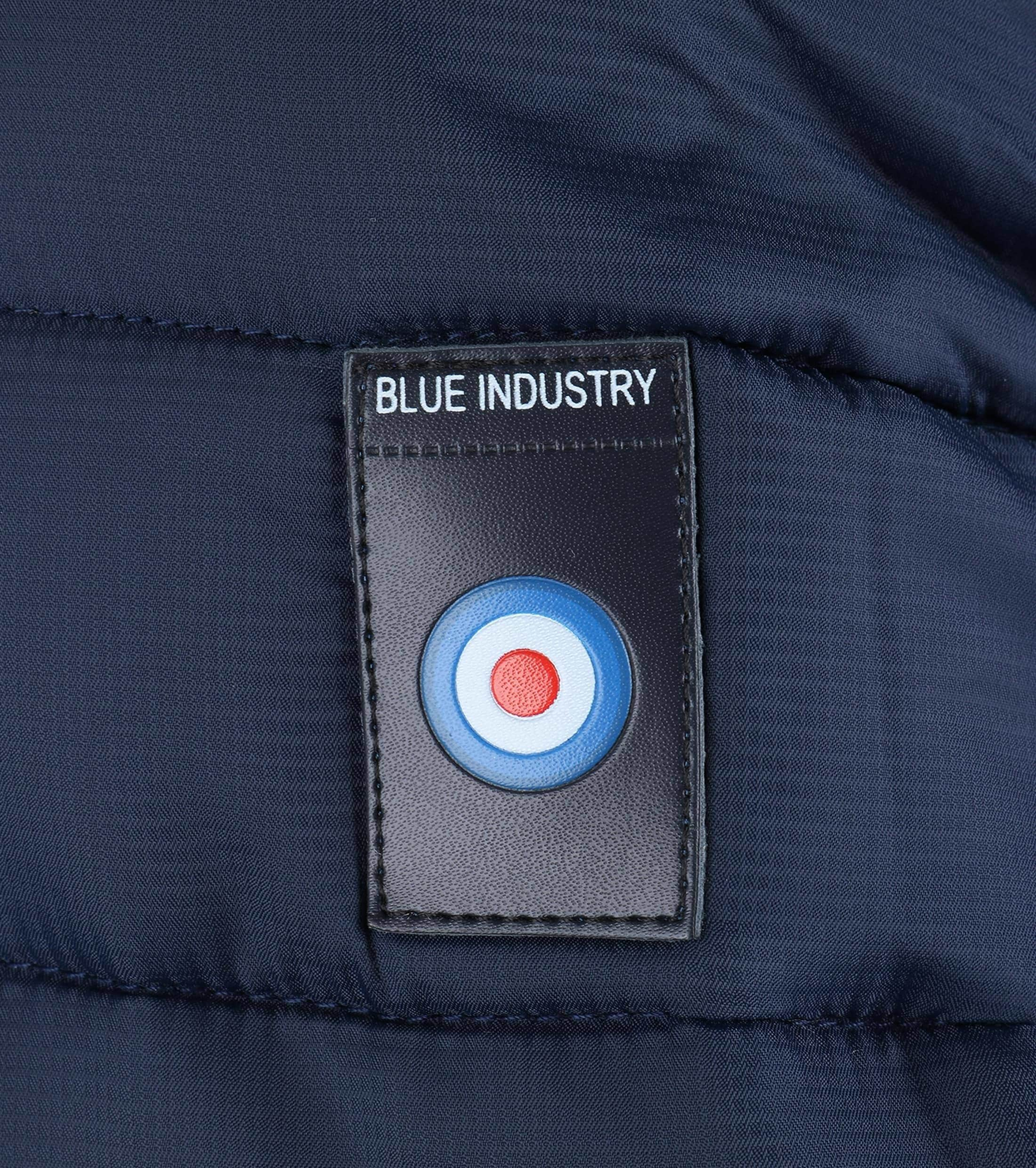 Blue Industry Bomber Jas foto 4