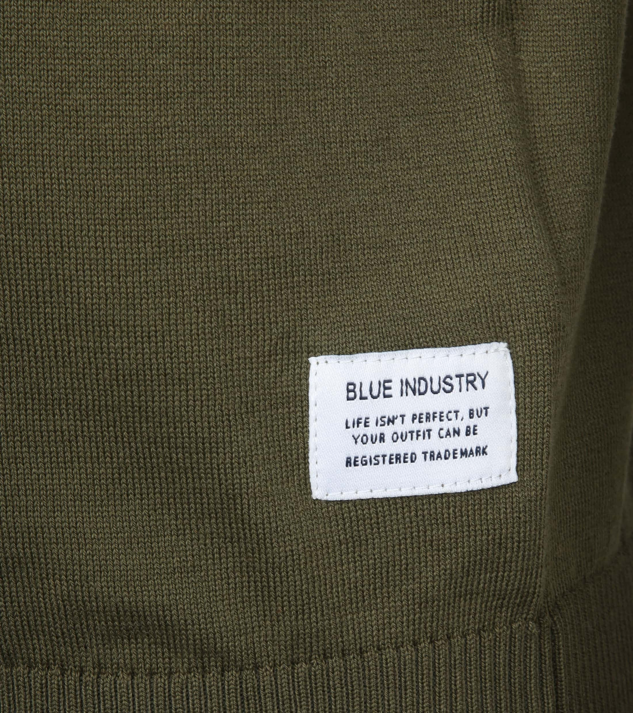 Blue Industry Knit Polo Groen