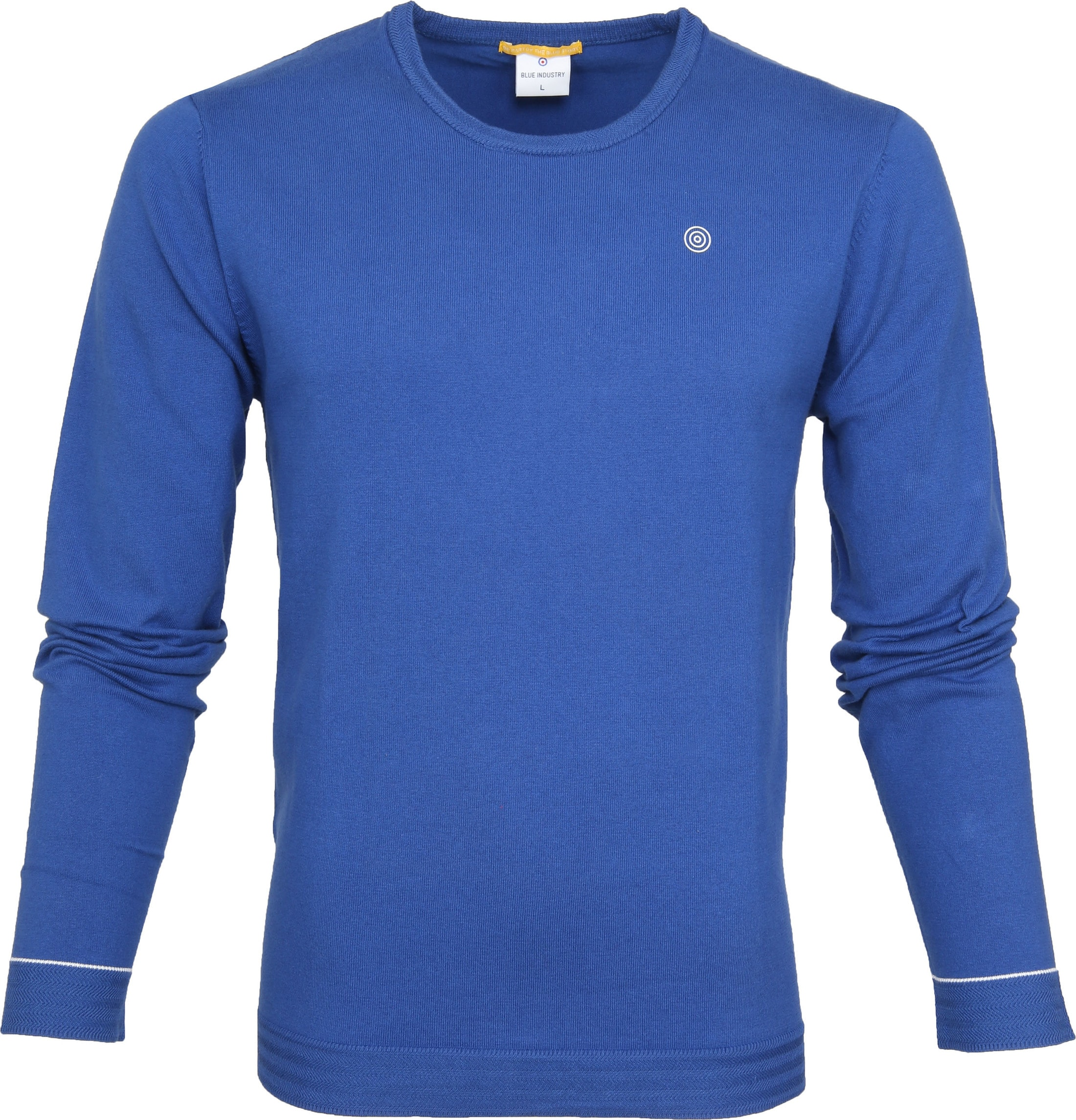 Blue Industry Knit Sweater Blauw foto 0