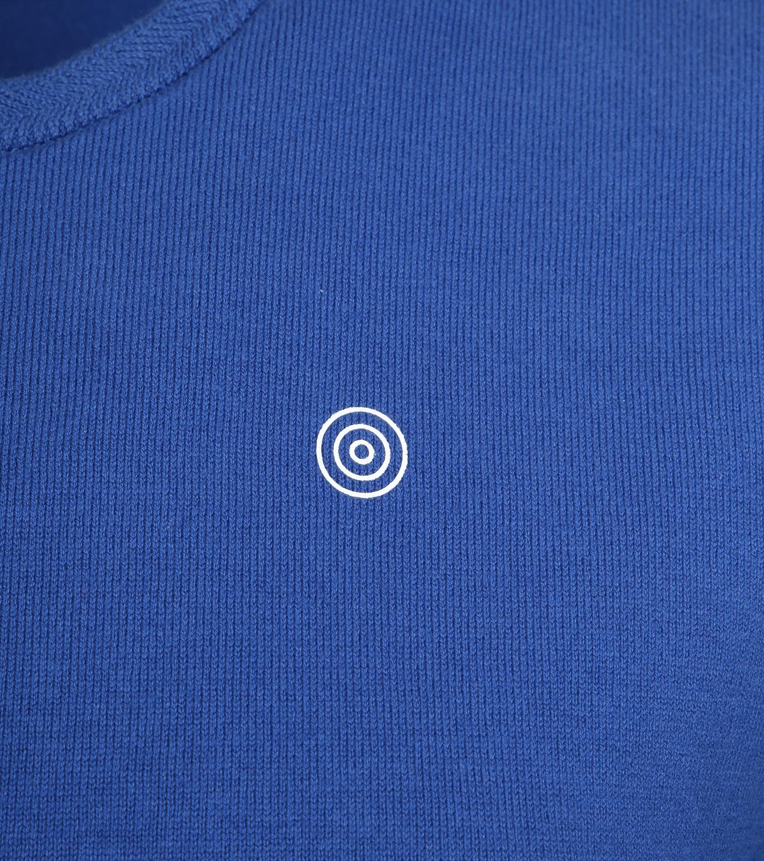 Blue Industry Knit Sweater Blauw foto 1