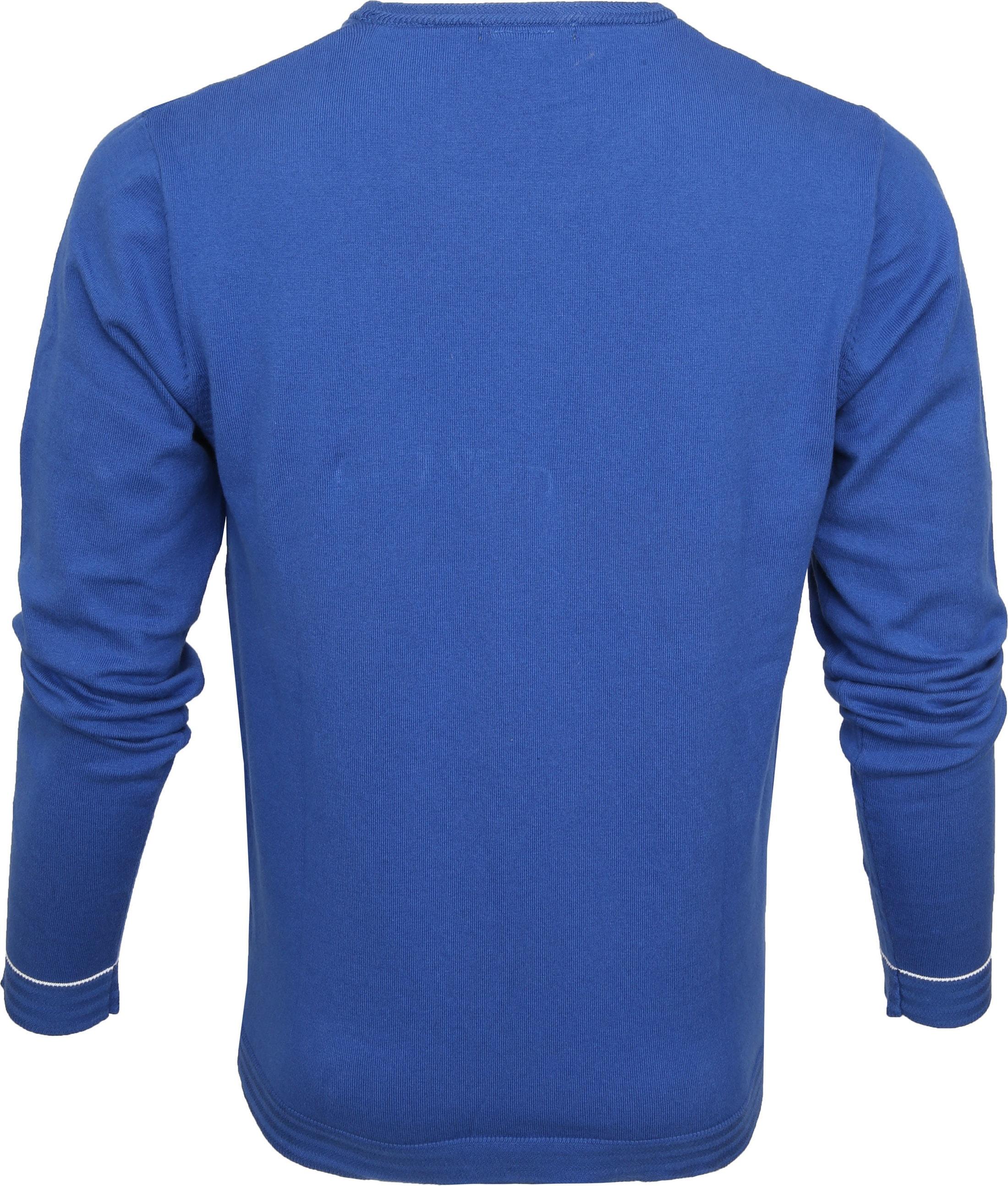 Blue Industry Knit Sweater Blauw foto 2