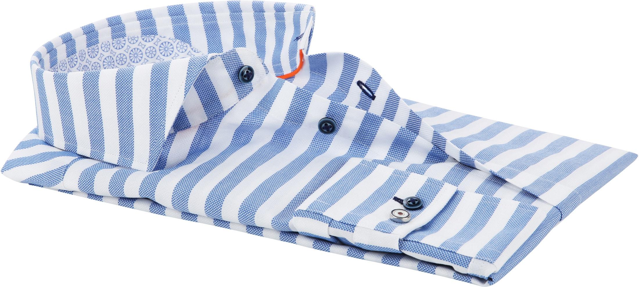 Blue Industry Overhemd Strepen foto 3