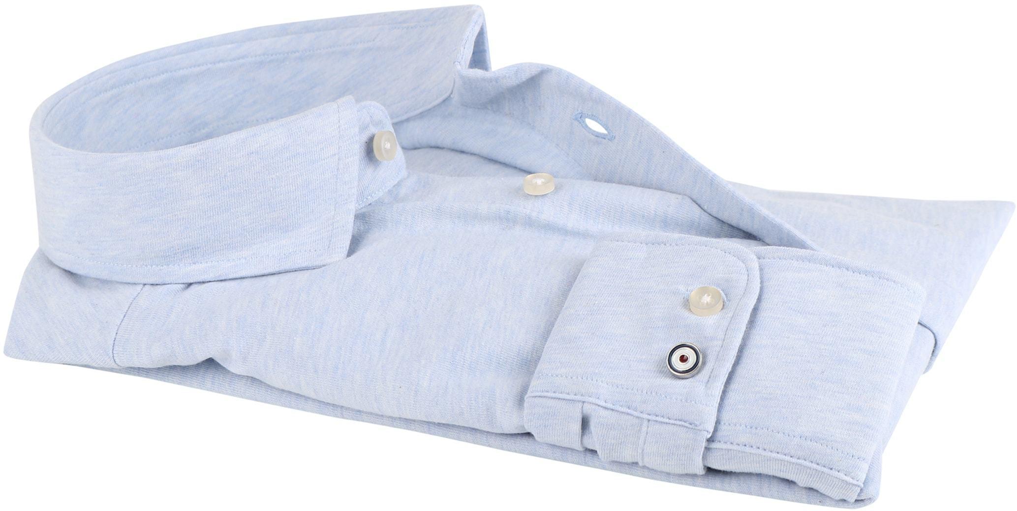 Blue Industry Overhemd Stretch Blauw foto 2