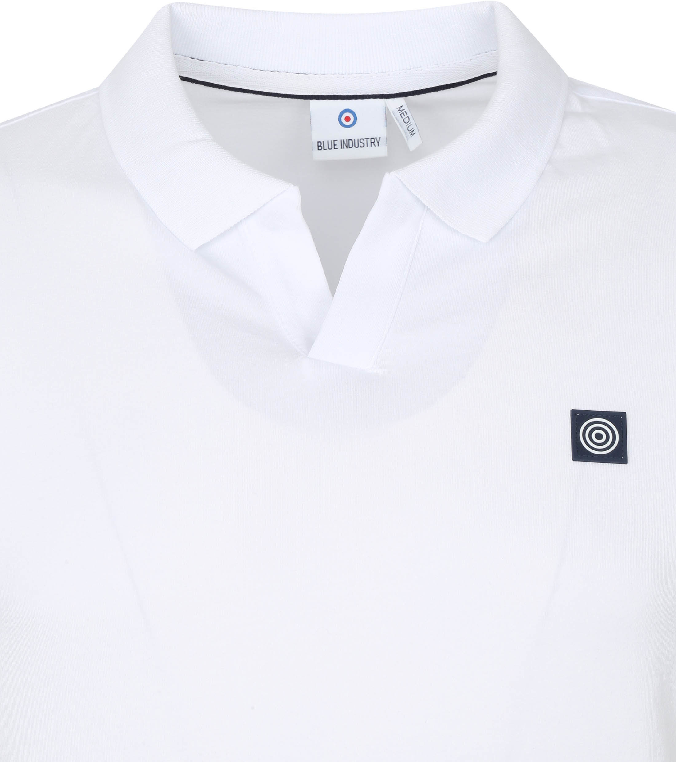 Blue Industry Polo Stretch Wit
