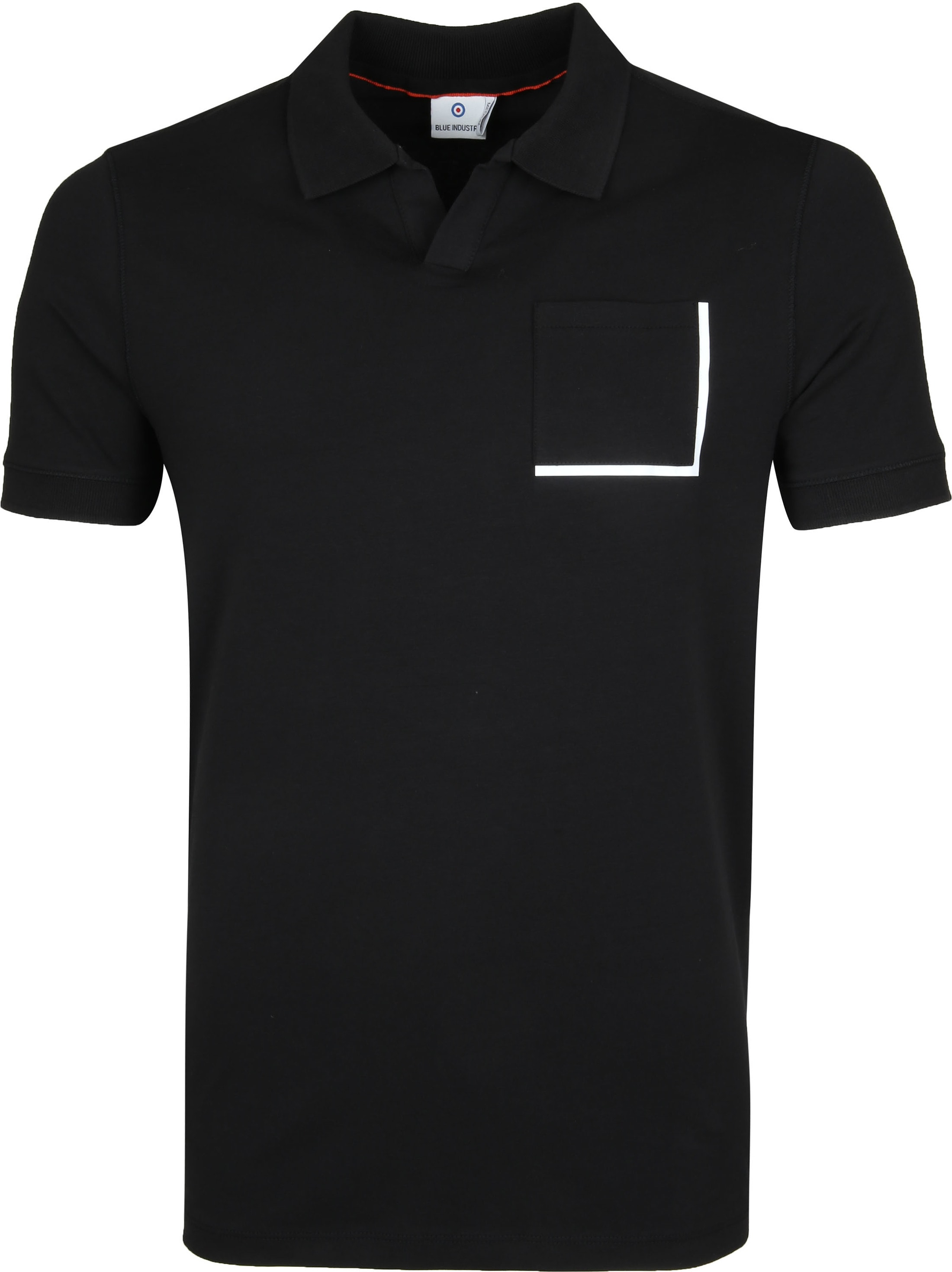 Blue Industry Polo Zwart