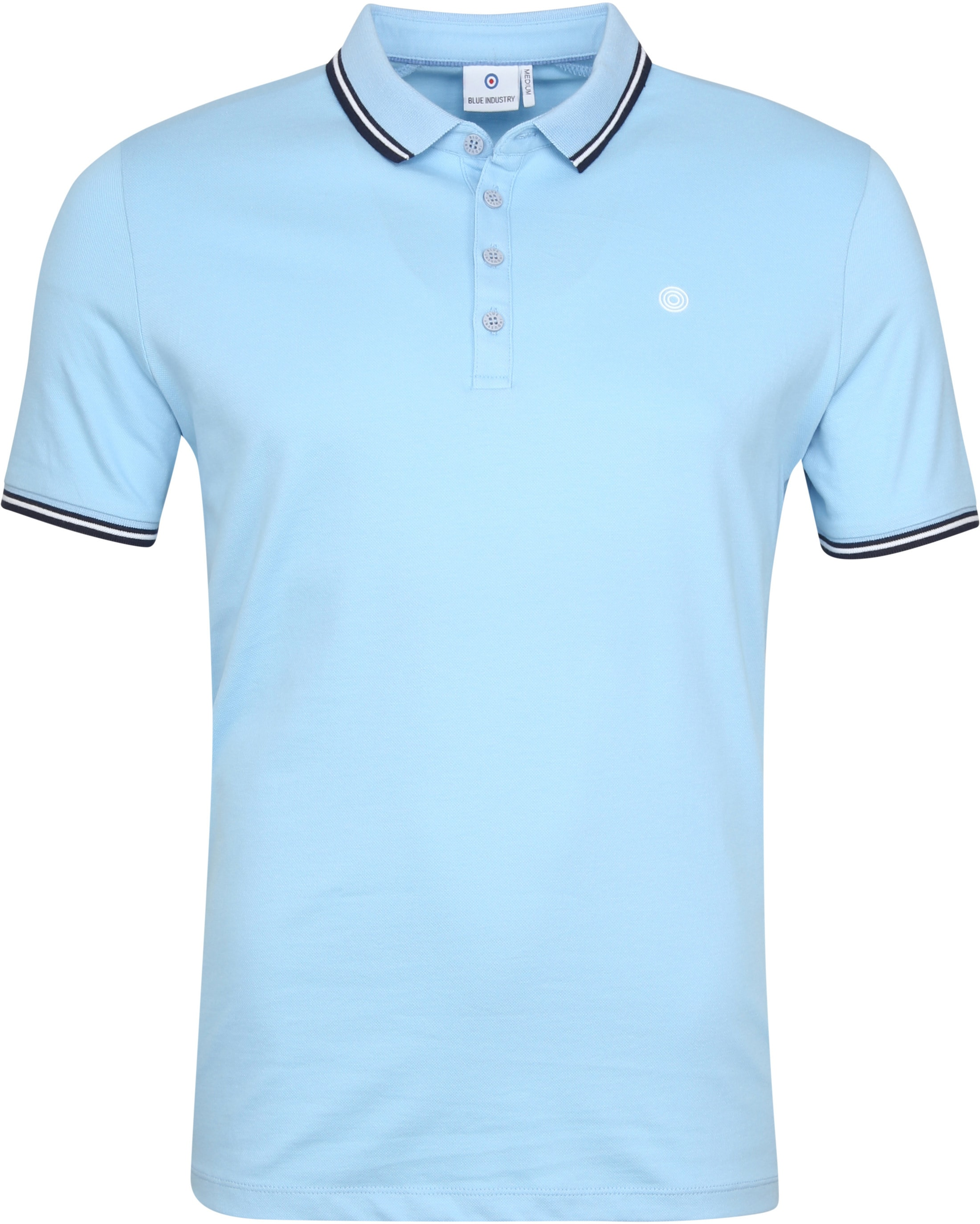 Blue Industry Poloshirt M21 Hellblau foto 0