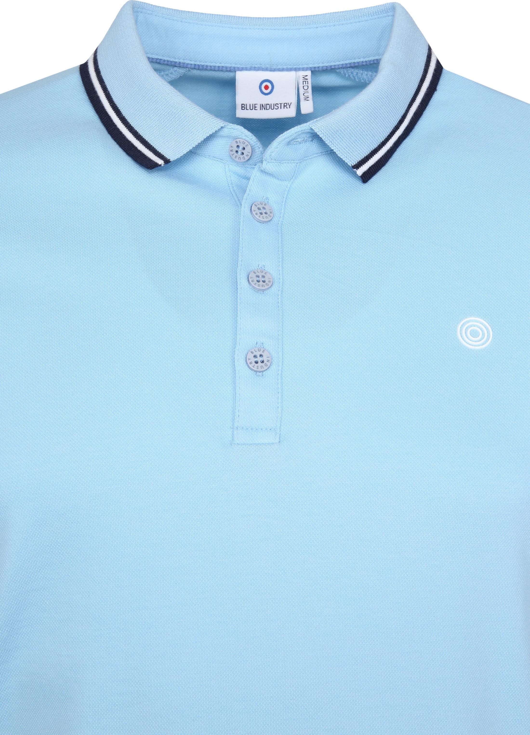Blue Industry Poloshirt M21 Hellblau foto 1