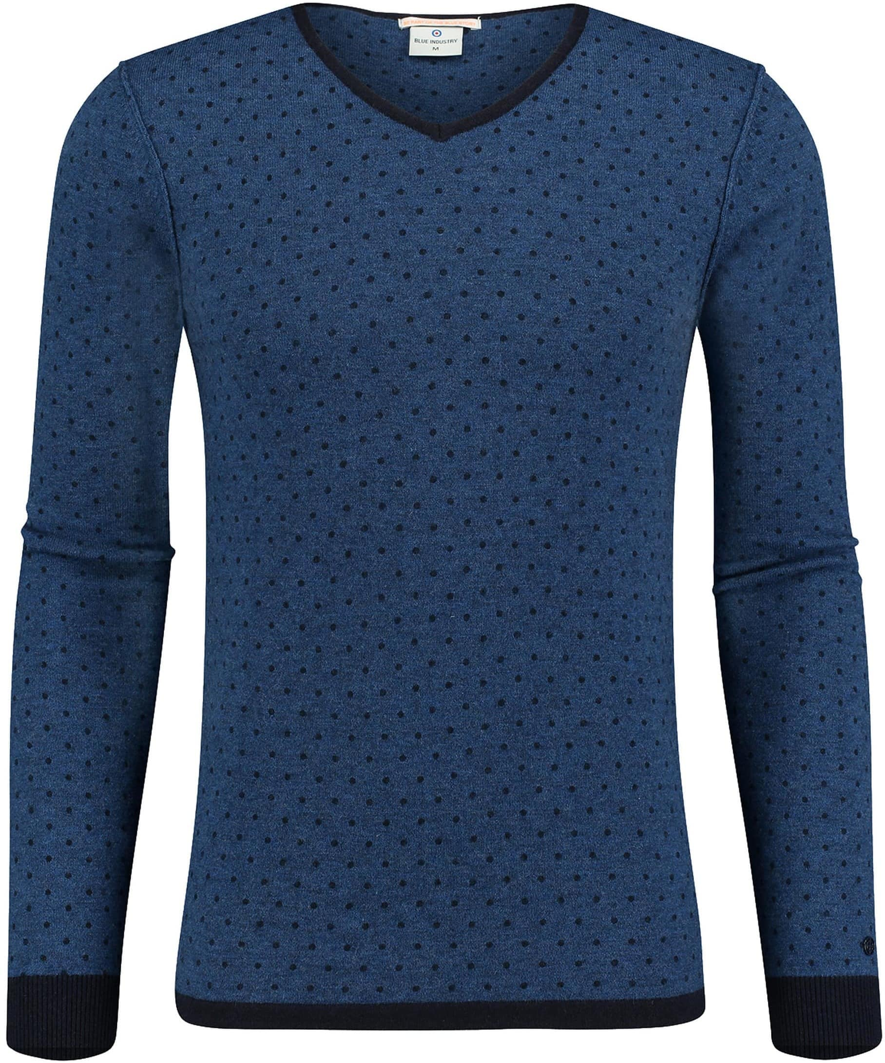 Blue Industry Pullover Blauw PinPoint foto 0