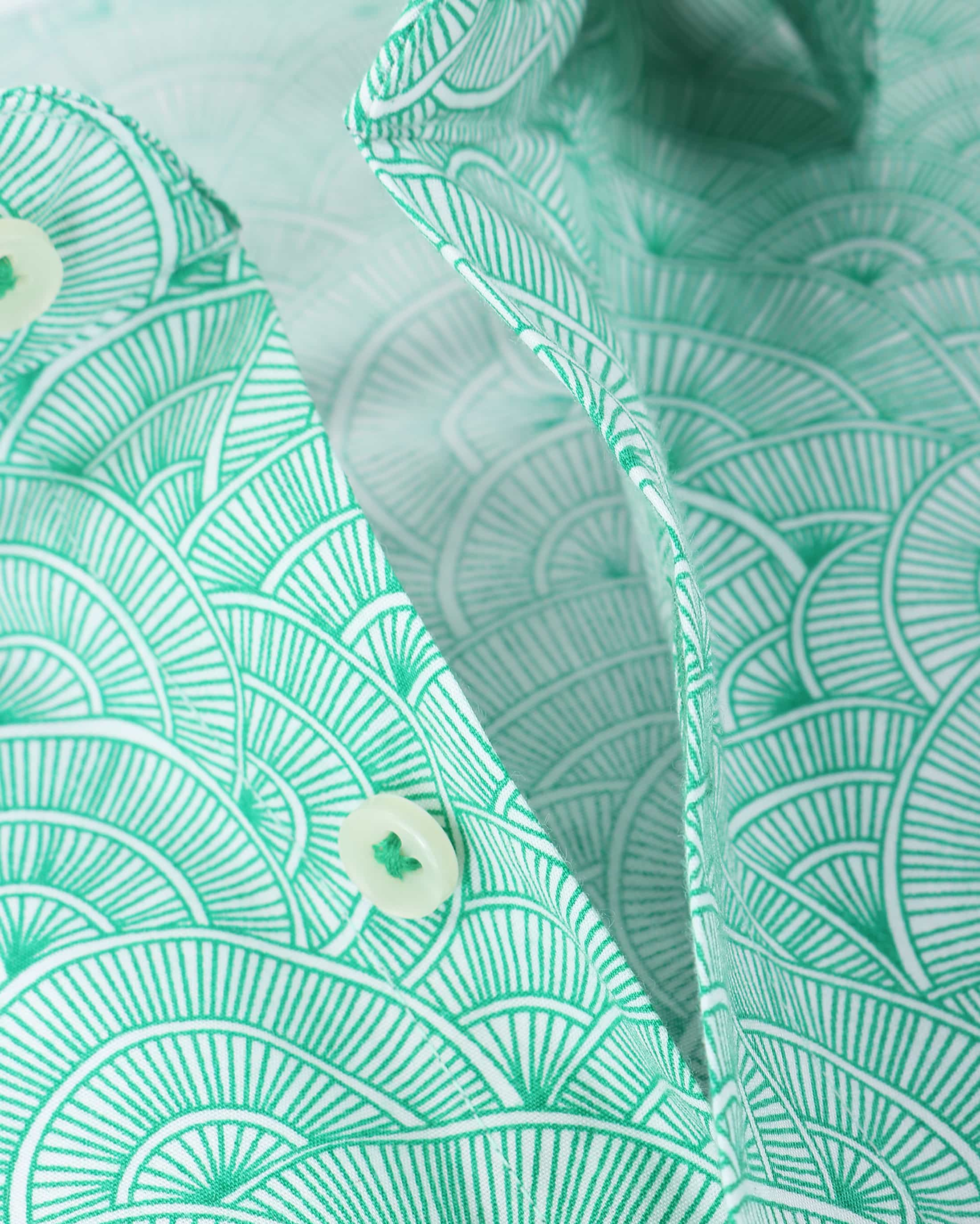 Blue Industry Shirt Green Prints foto 1