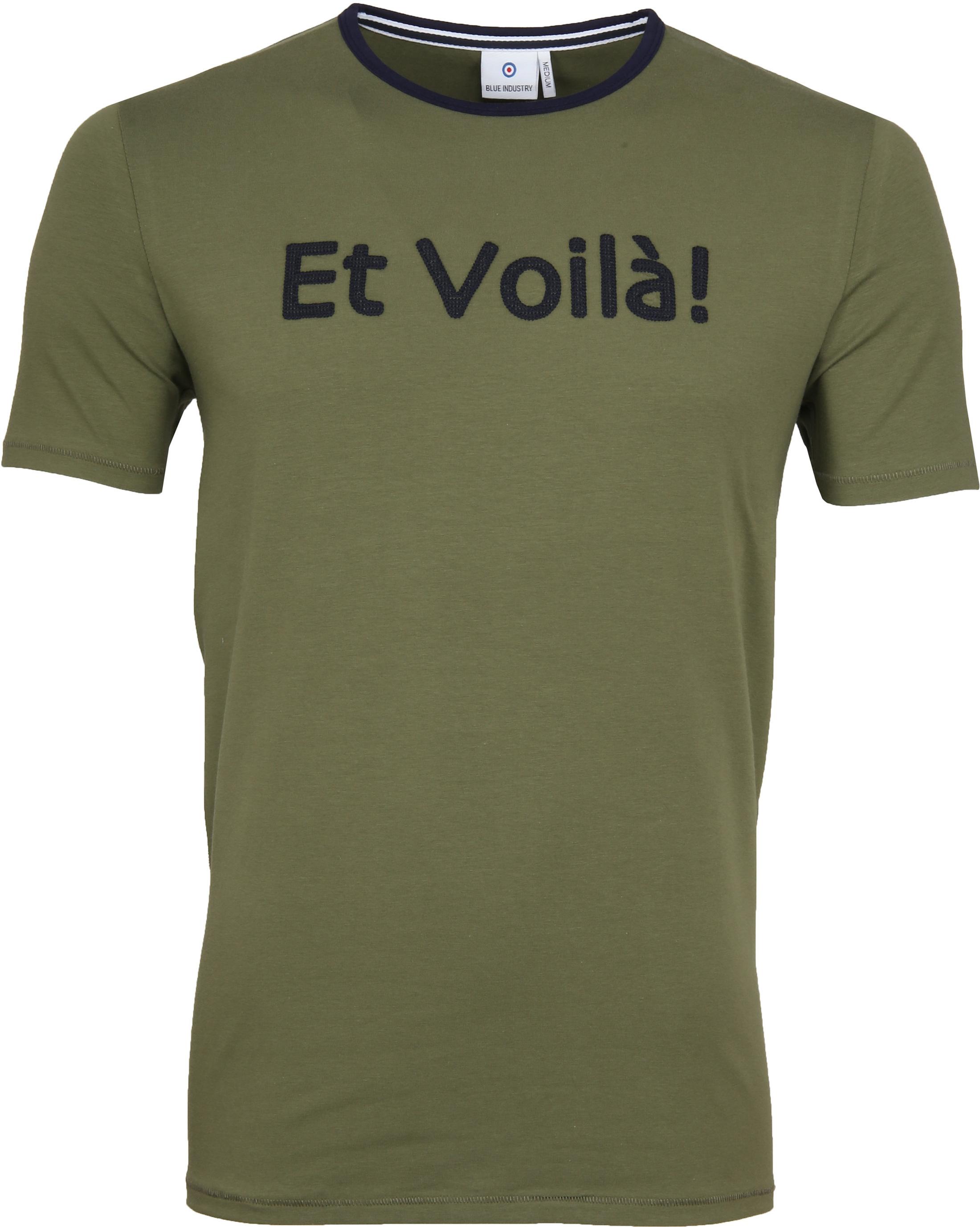 Blue Industry Shirt Logo Army foto 0