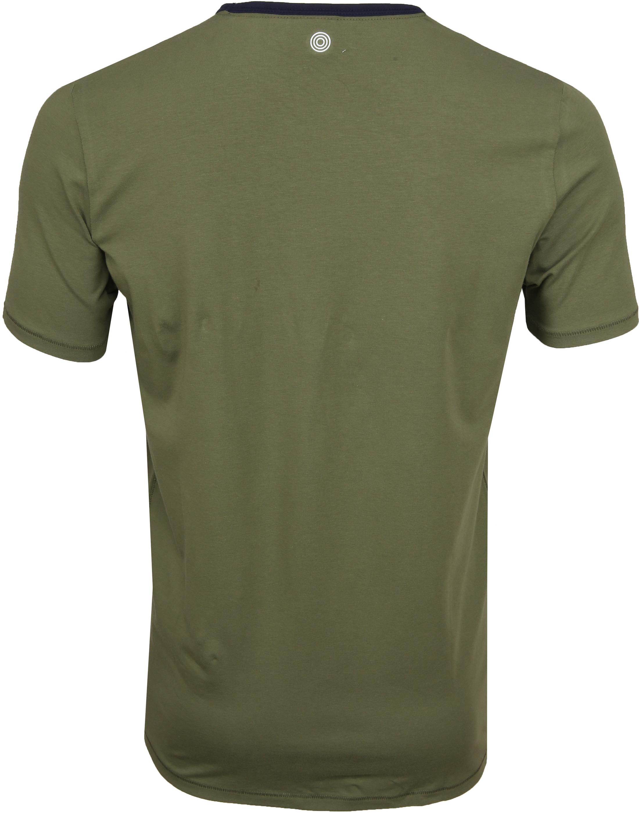 Blue Industry Shirt Logo Army foto 2