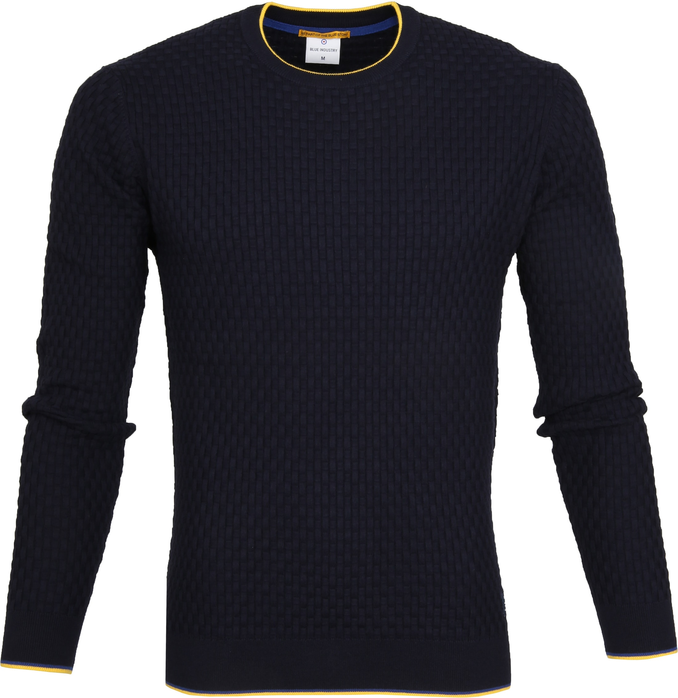 Blue Industry Structure Pullover Navy photo 0