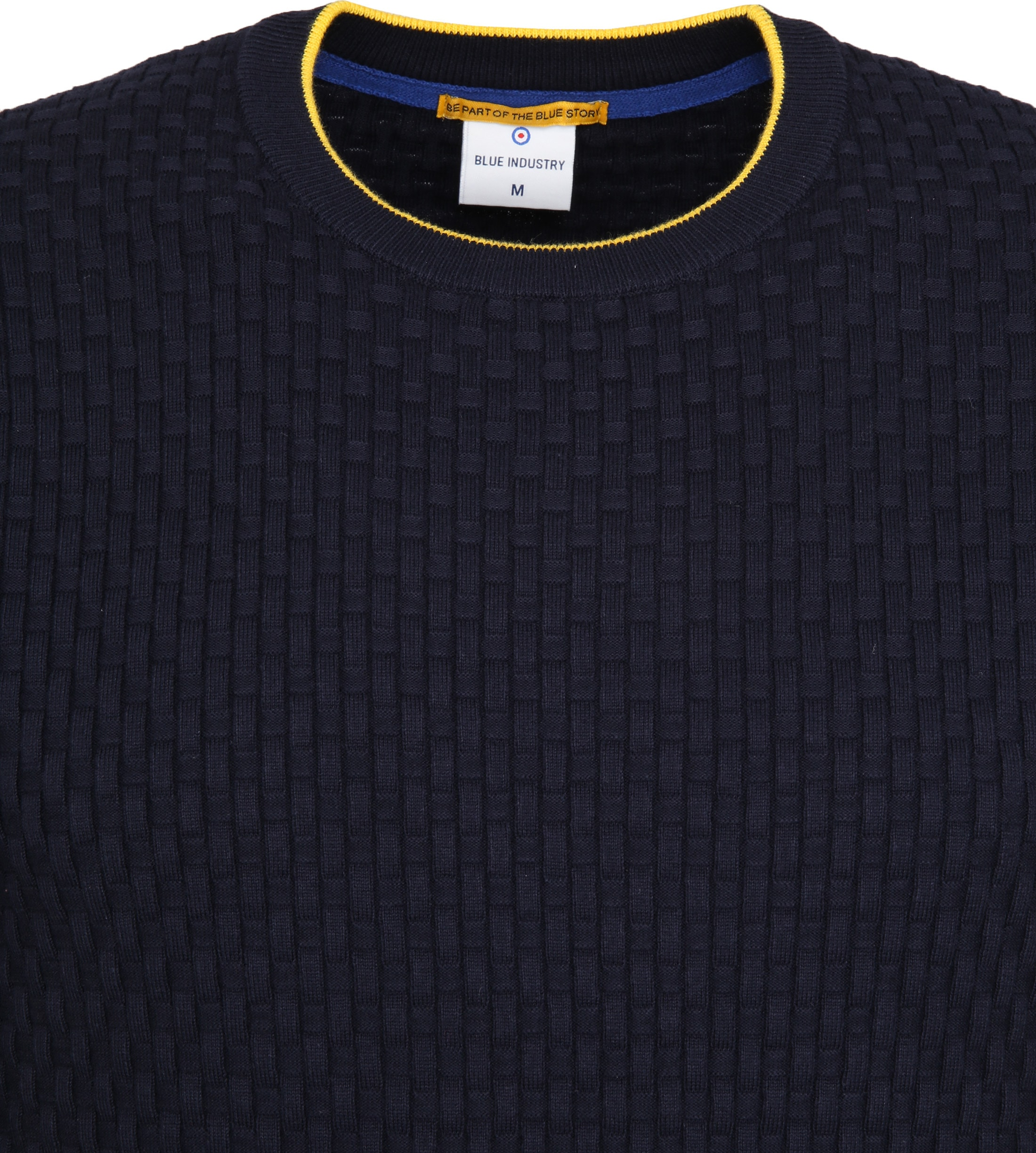 Blue Industry Structure Pullover Navy photo 1