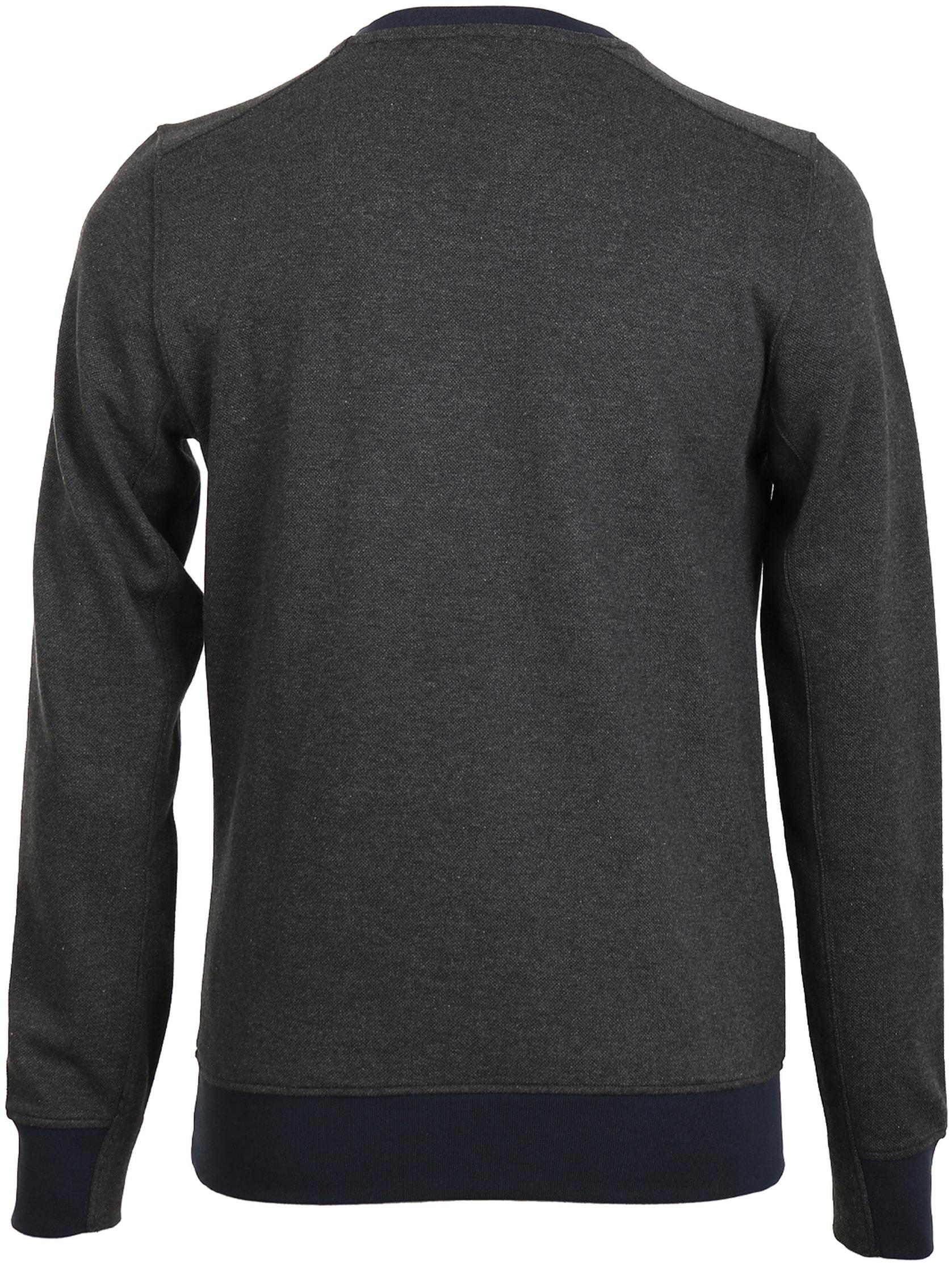 Blue Industry Sweater Donkergrijs foto 1