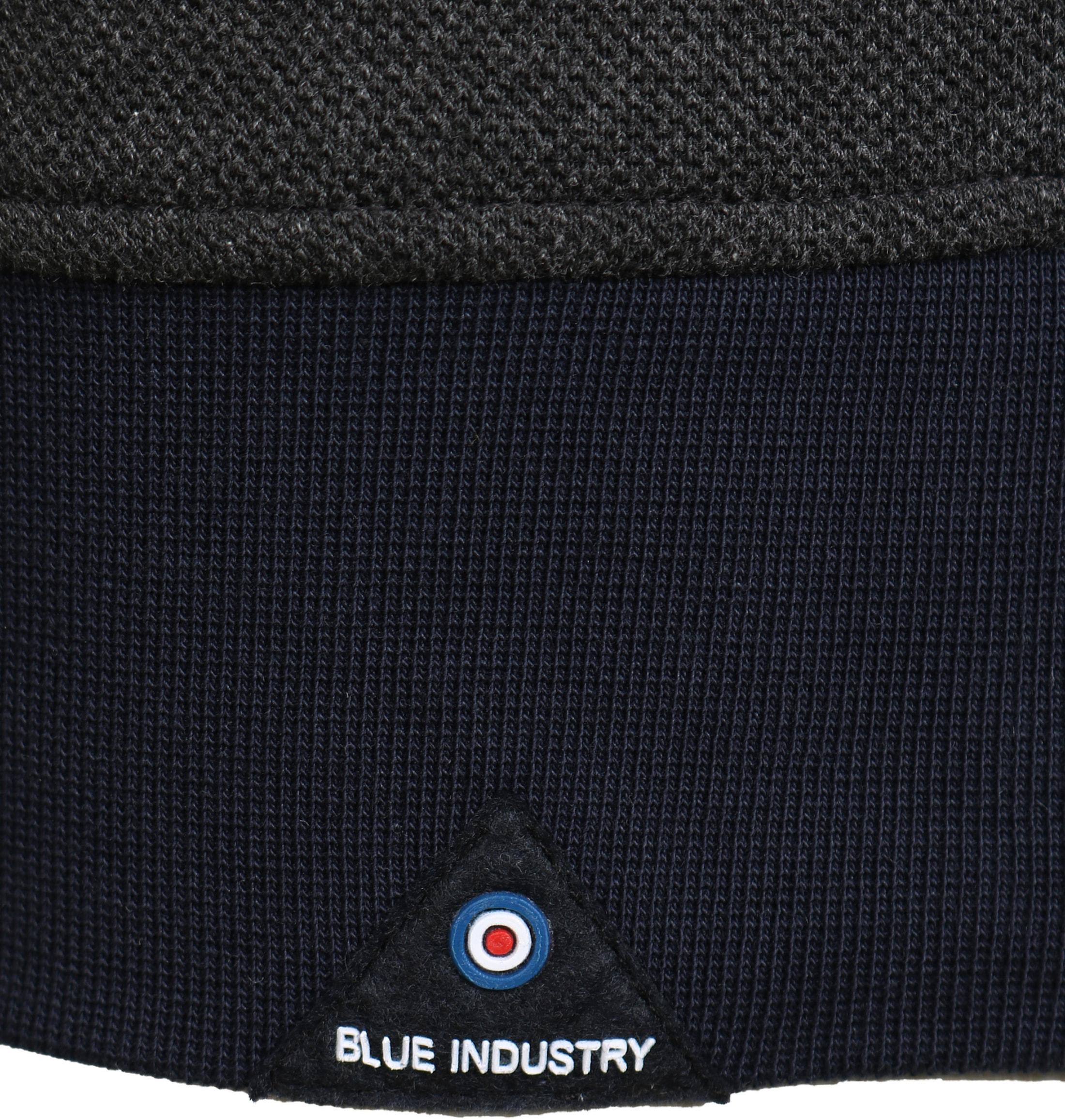 Blue Industry Sweater Donkergrijs foto 4