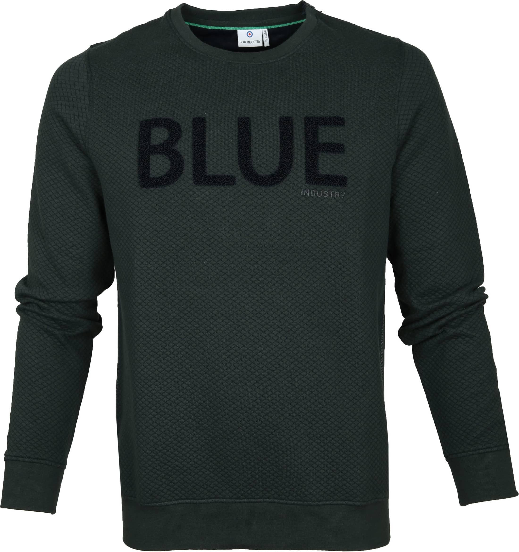 Blue Industry Sweater Knit Green foto 0